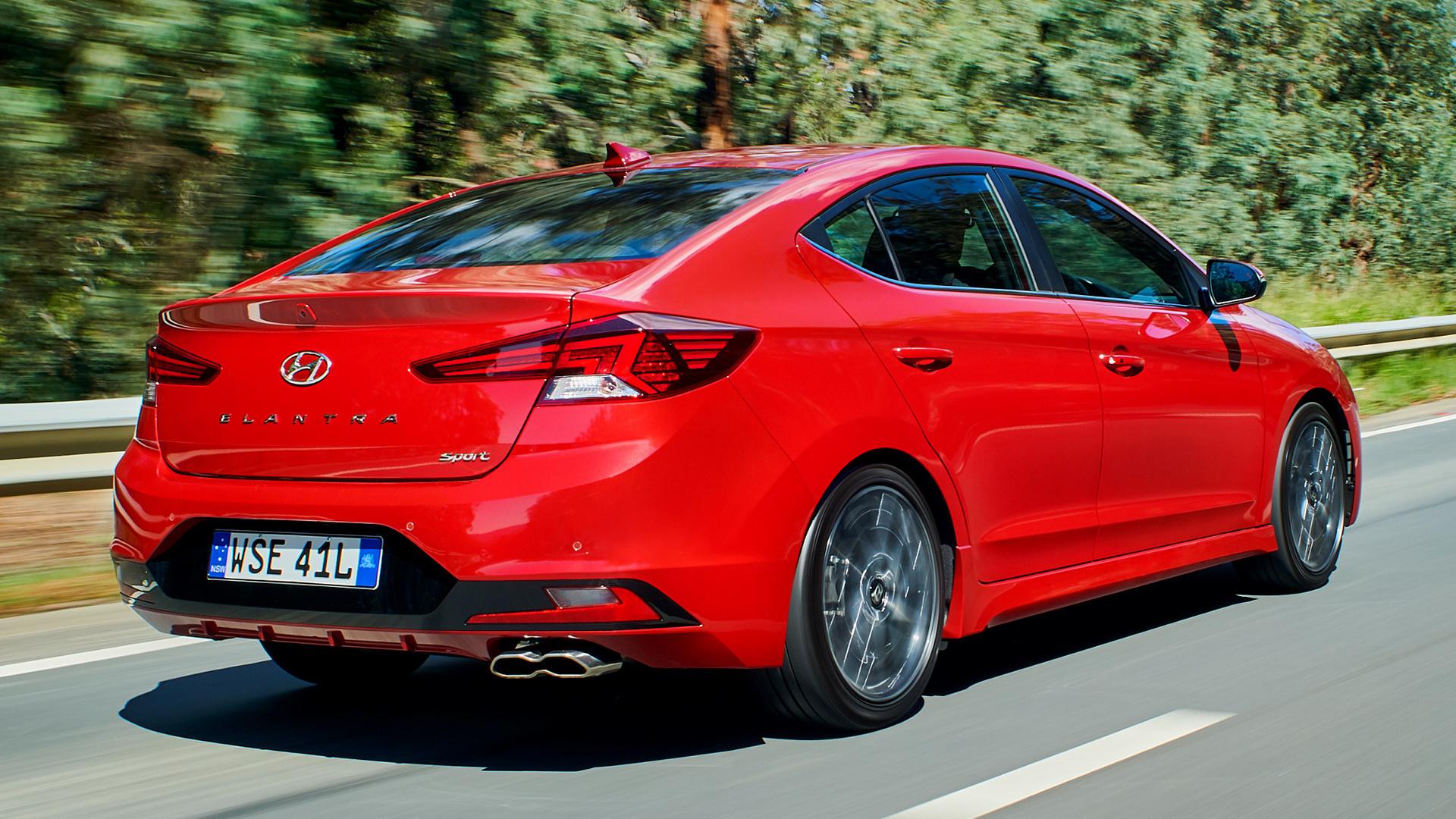 Mazda 3 Sport >> 2019 Hyundai Elantra Sport (AU) - Wallpapers and HD Images ...