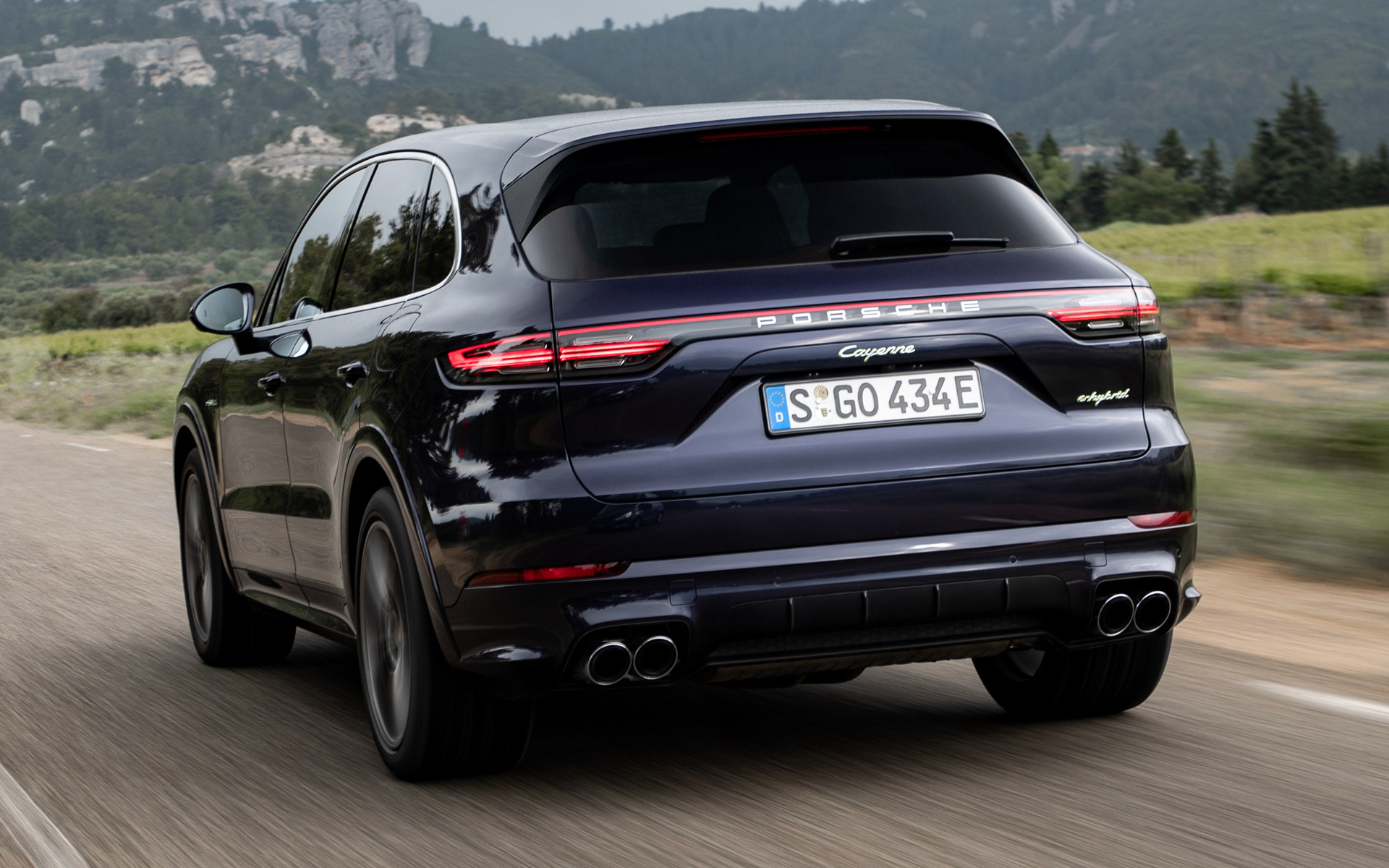 2018 Porsche Cayenne E-Hybrid SportDesign Package - Wallpapers and HD Images | Car Pixel