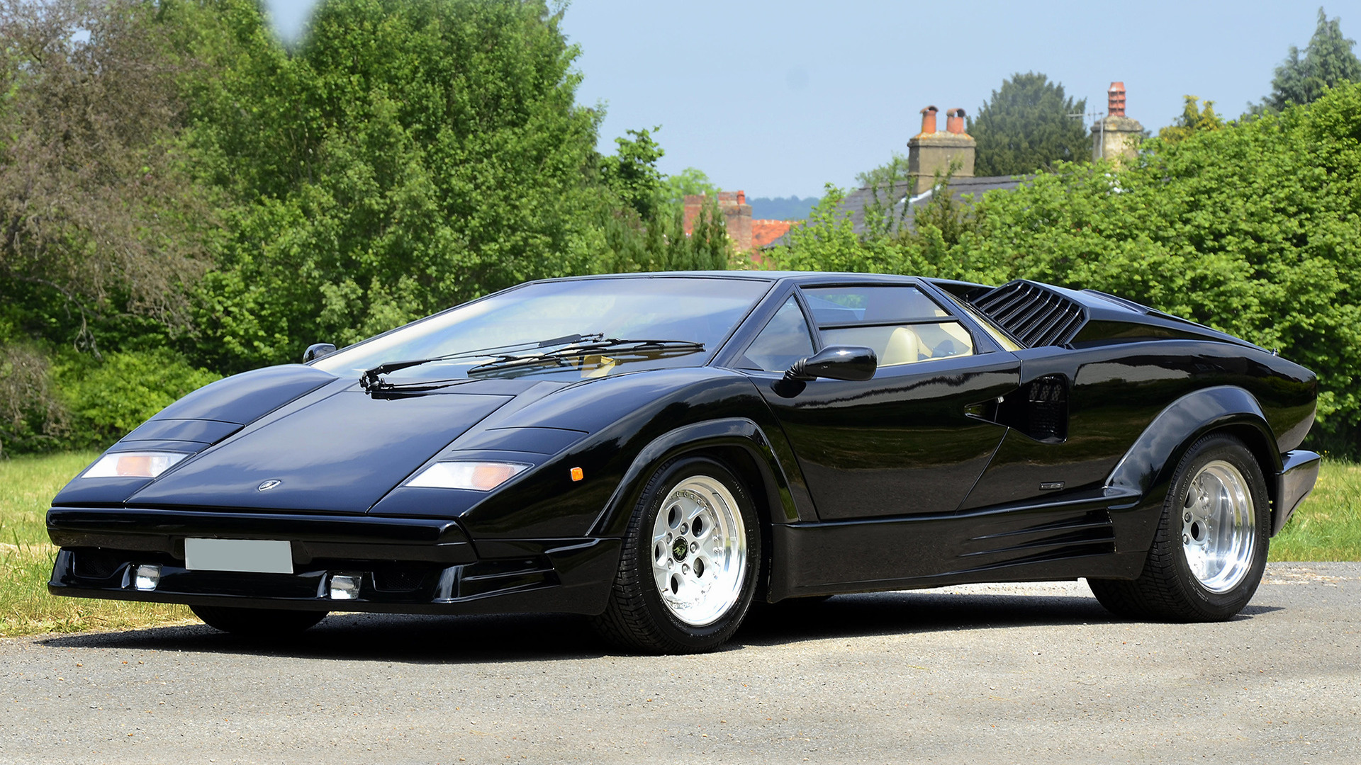 Lamborghini Countach 25° Anniversario (1988) UK Wallpapers ...