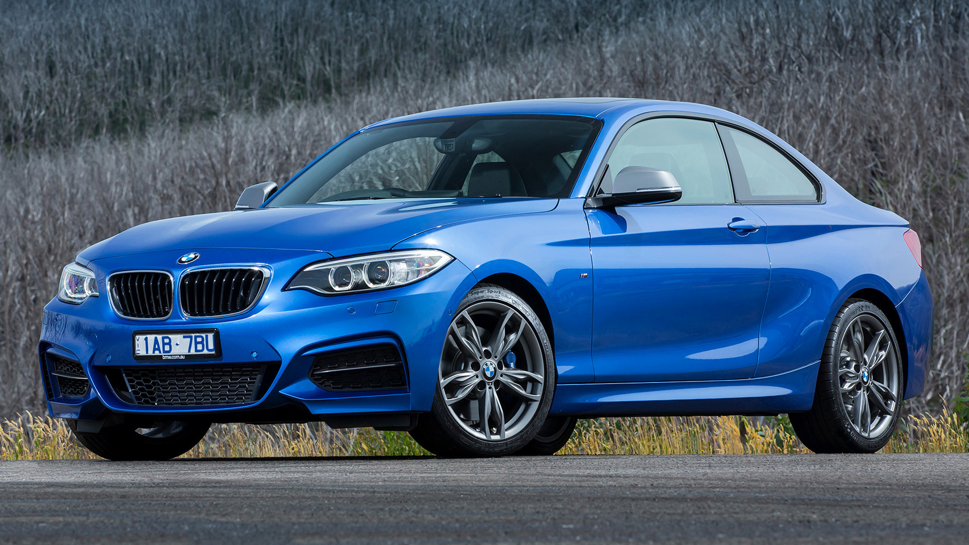 2014 bmw m235i coupe au wallpapers and hd images car. Black Bedroom Furniture Sets. Home Design Ideas
