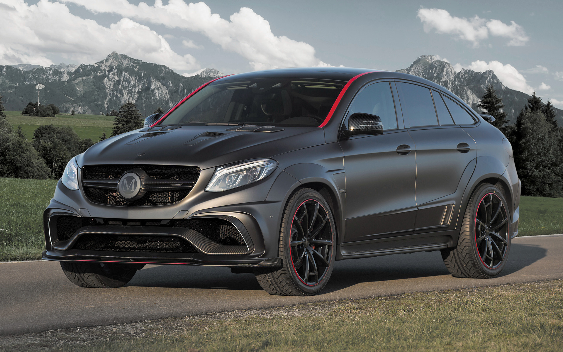 Mercedes-AMG GLE 63 Coupe by Mansory (2016) Wallpapers and ...