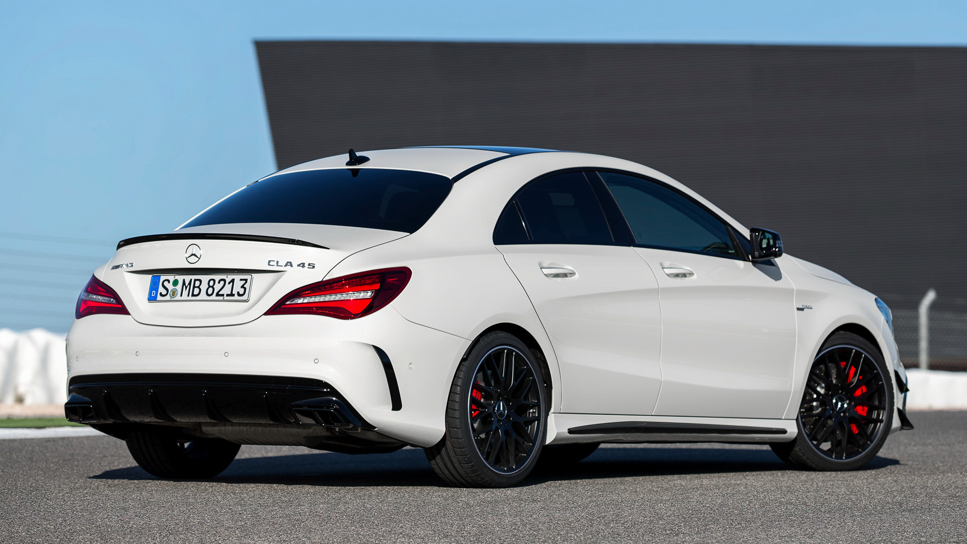 2016 Mercedes-AMG CLA 45 Aerodynamics Package - Wallpapers ...