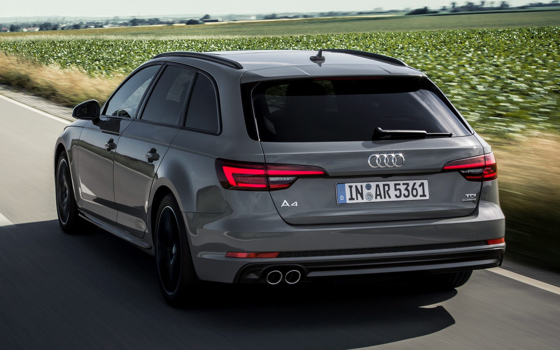 Audi A4 Avant Black Edition 2017 Wallpapers And Hd Images Car Pixel