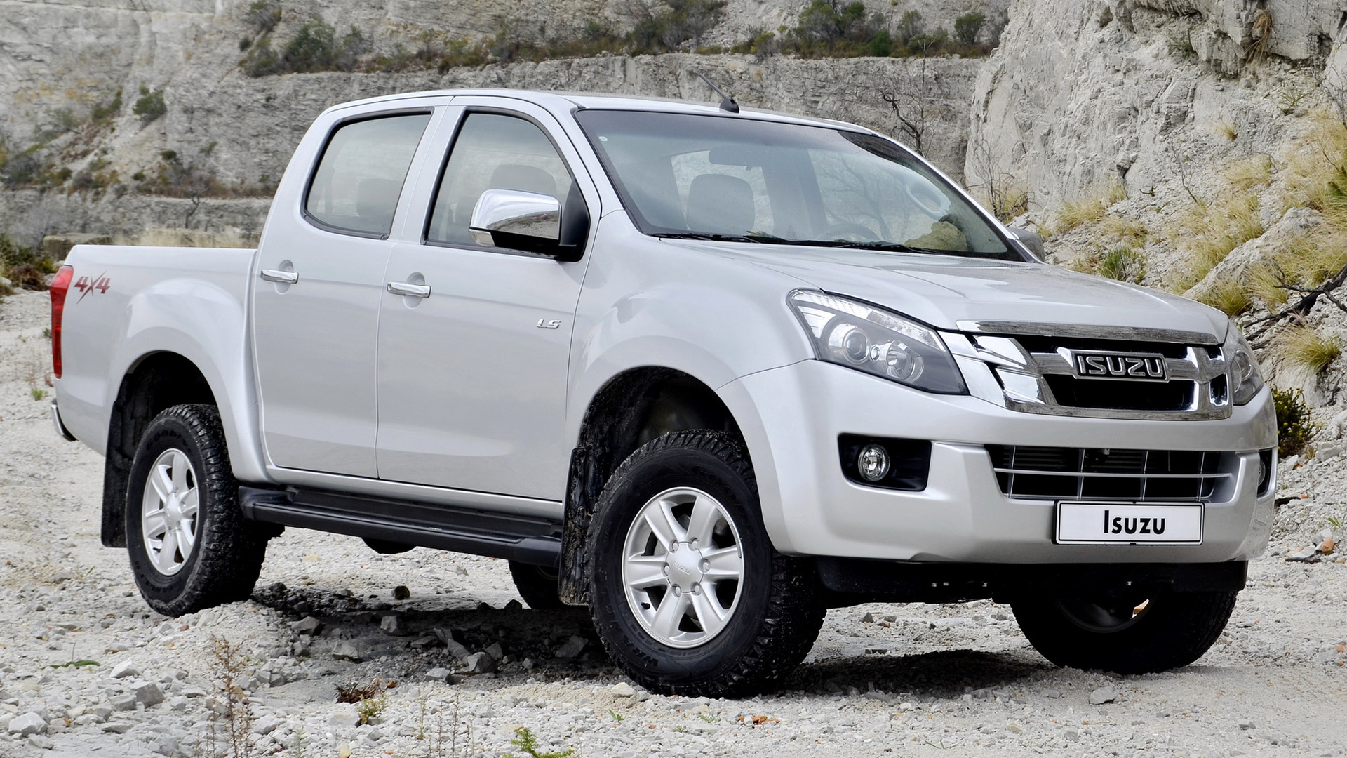 isuzu d max double cab 2012 wallpapers and hd images. Black Bedroom Furniture Sets. Home Design Ideas
