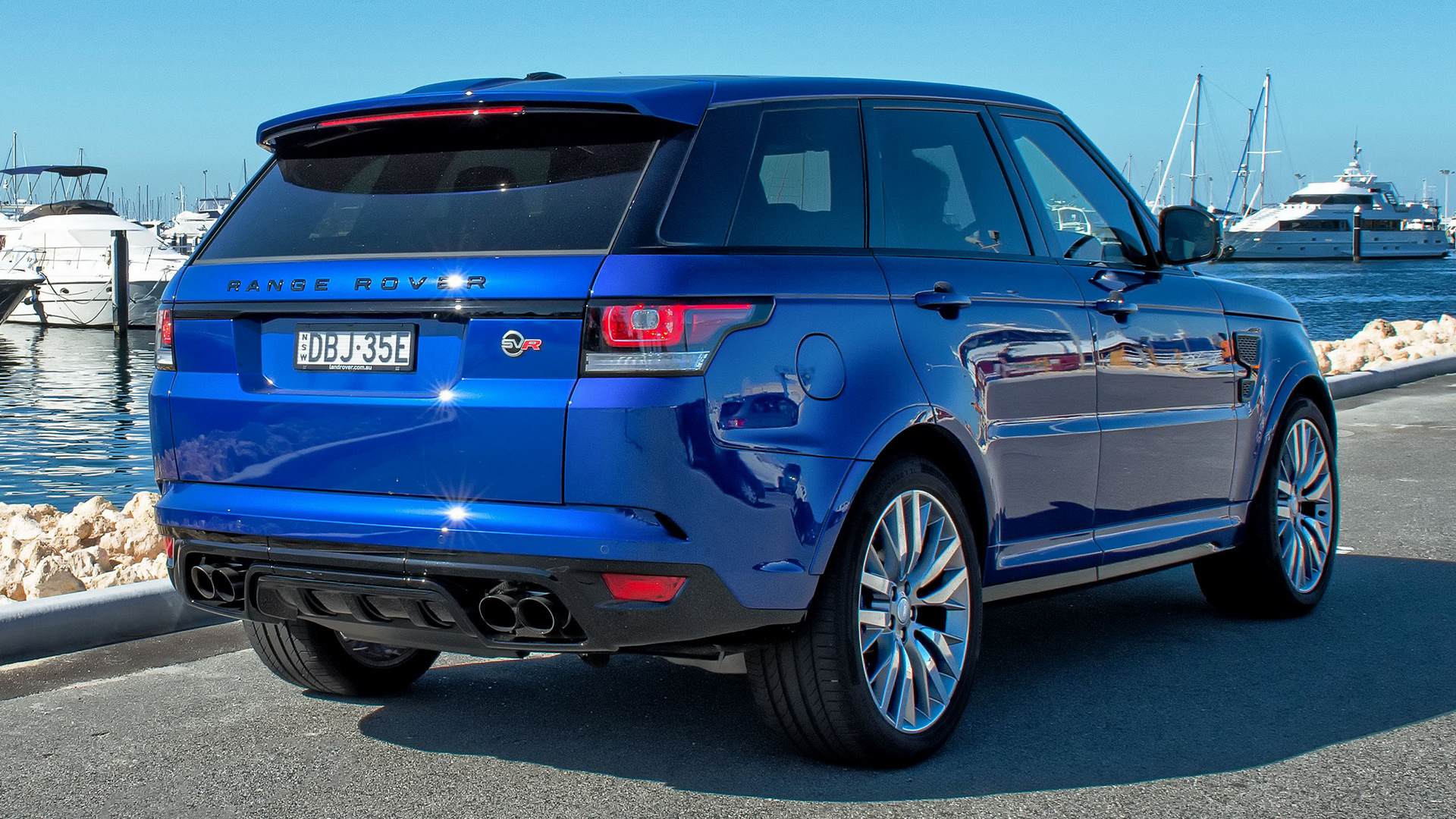Land Rover Hse >> 2015 Range Rover Sport SVR (AU) - Wallpapers and HD Images ...