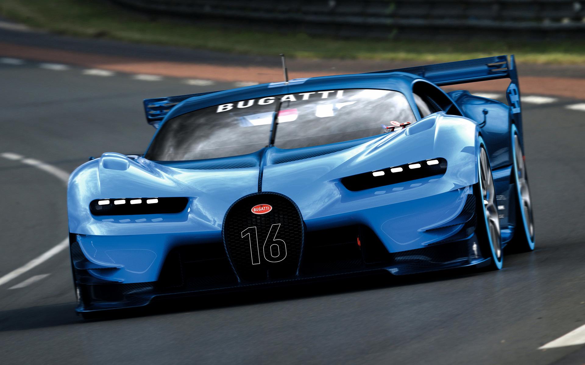 2015 Bugatti Vision Gran Turismo - Wallpapers and HD ...