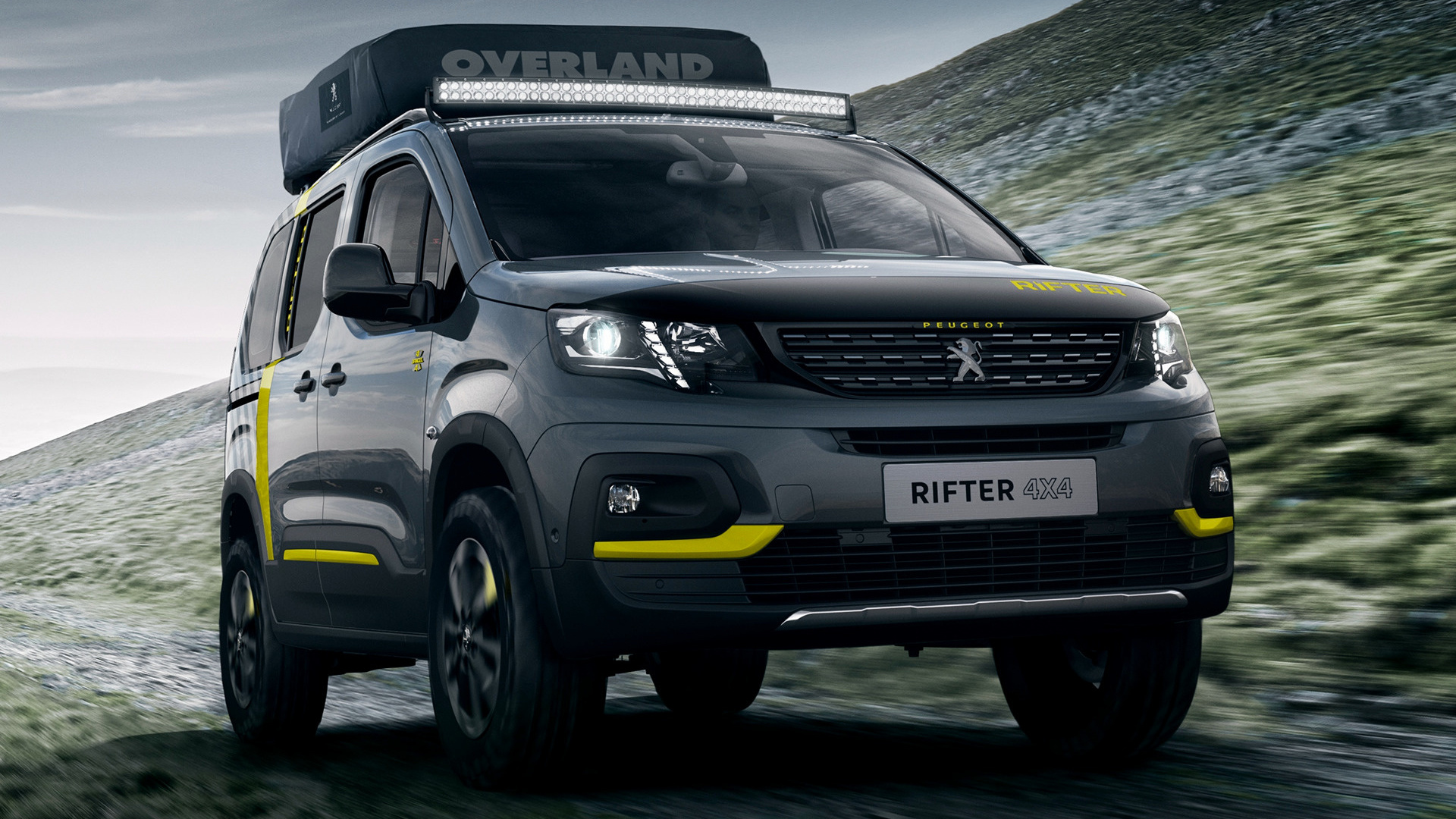 Peugeot Rifter 4x4 Concept (2018) Wallpapers and HD Images - Car Pixel