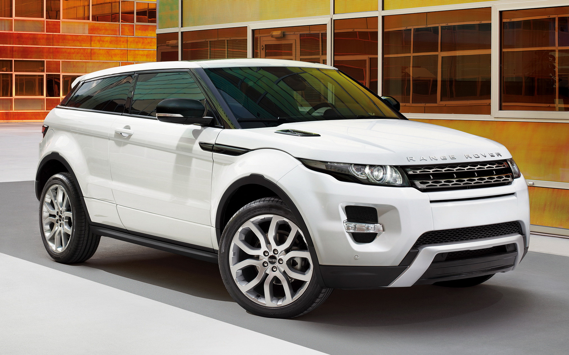 range rover evoque coupe dynamic 2011 wallpapers and hd images car pixel. Black Bedroom Furniture Sets. Home Design Ideas