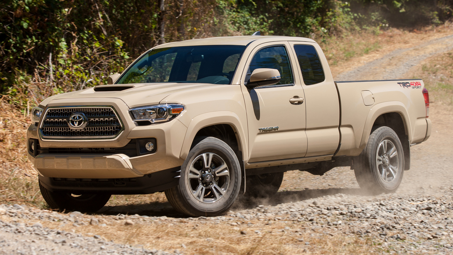 Toyota tacoma trd sport access cab 2016 wallpapers and hd images hd 169 voltagebd Choice Image