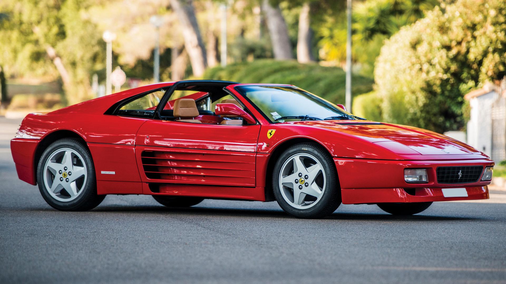 1993 Ferrari 348 Gts Fondos De Pantalla E Imágenes En Hd