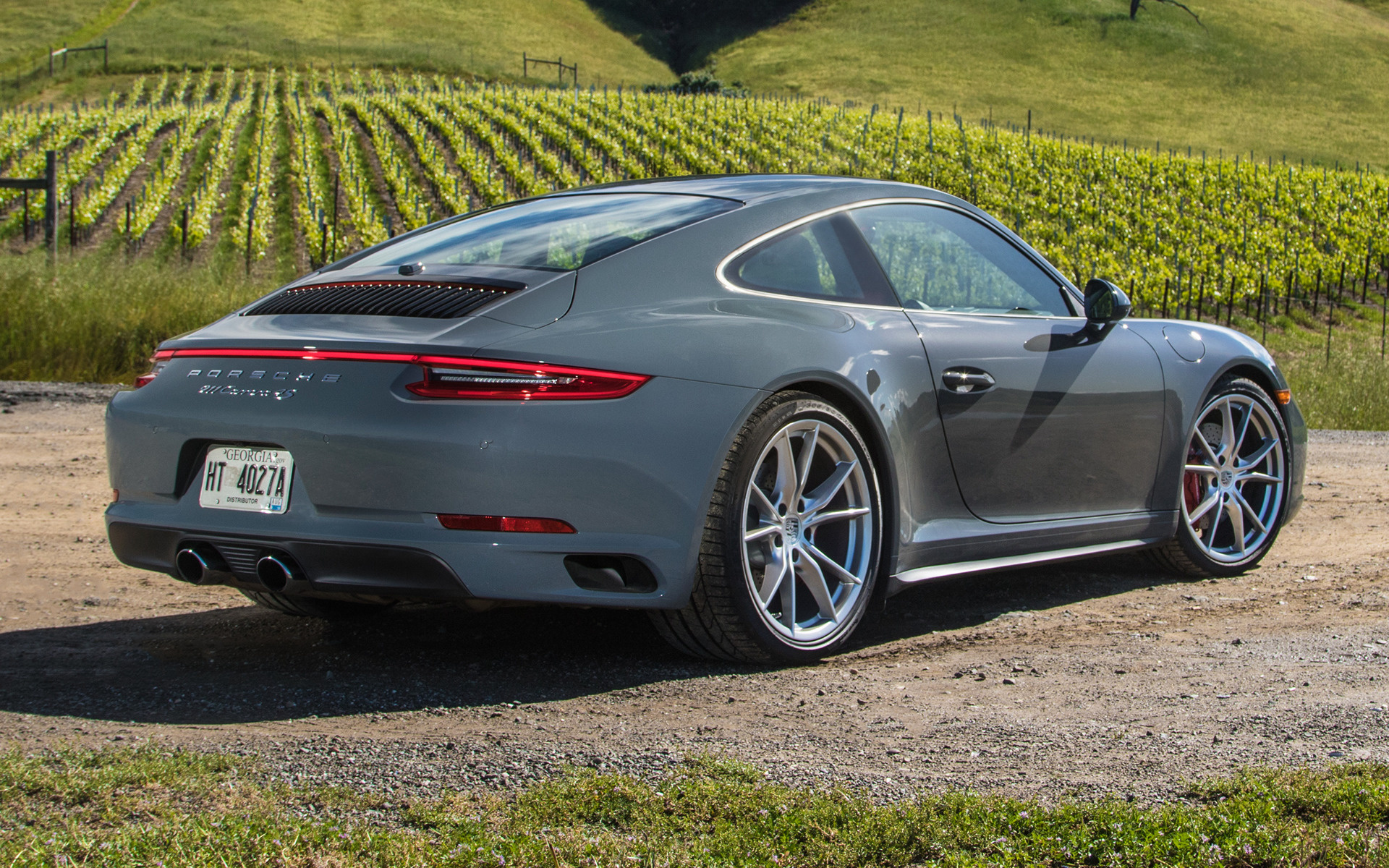 911 Carrera Gts >> 2017 Porsche 911 Carrera S (US) - Wallpapers and HD Images ...