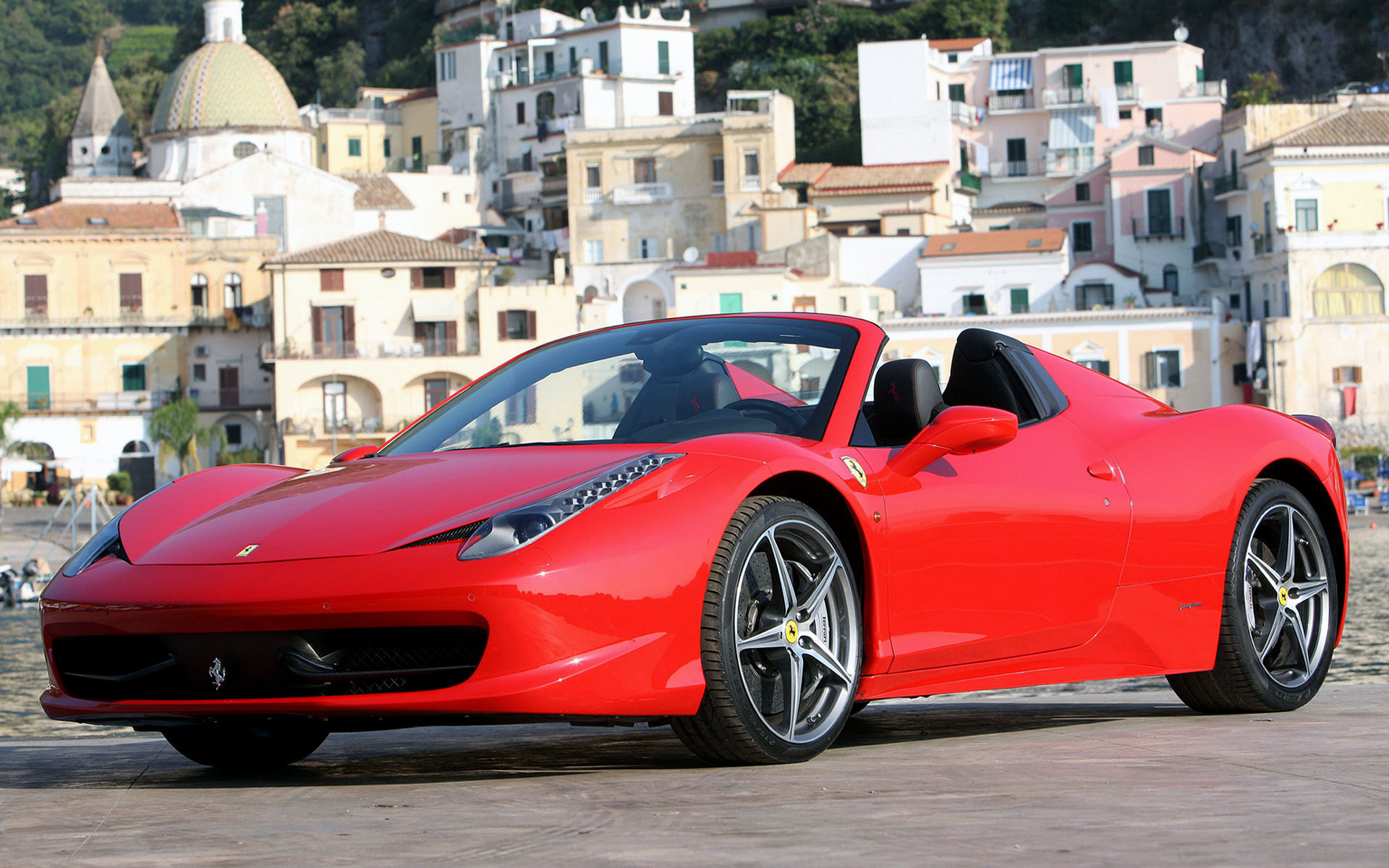 2011 Ferrari 458 Spider Wallpapers And Hd Images Car Pixel