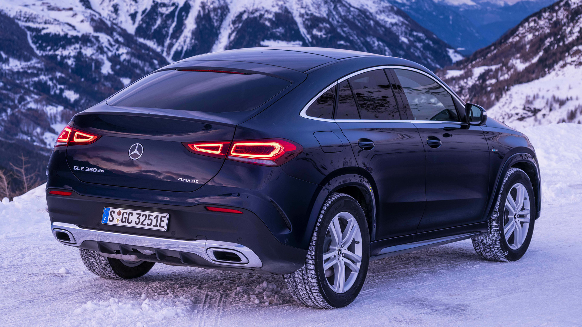 2019 Mercedes-Benz GLE-Class Coupe Plug-In Hybrid AMG Line ...
