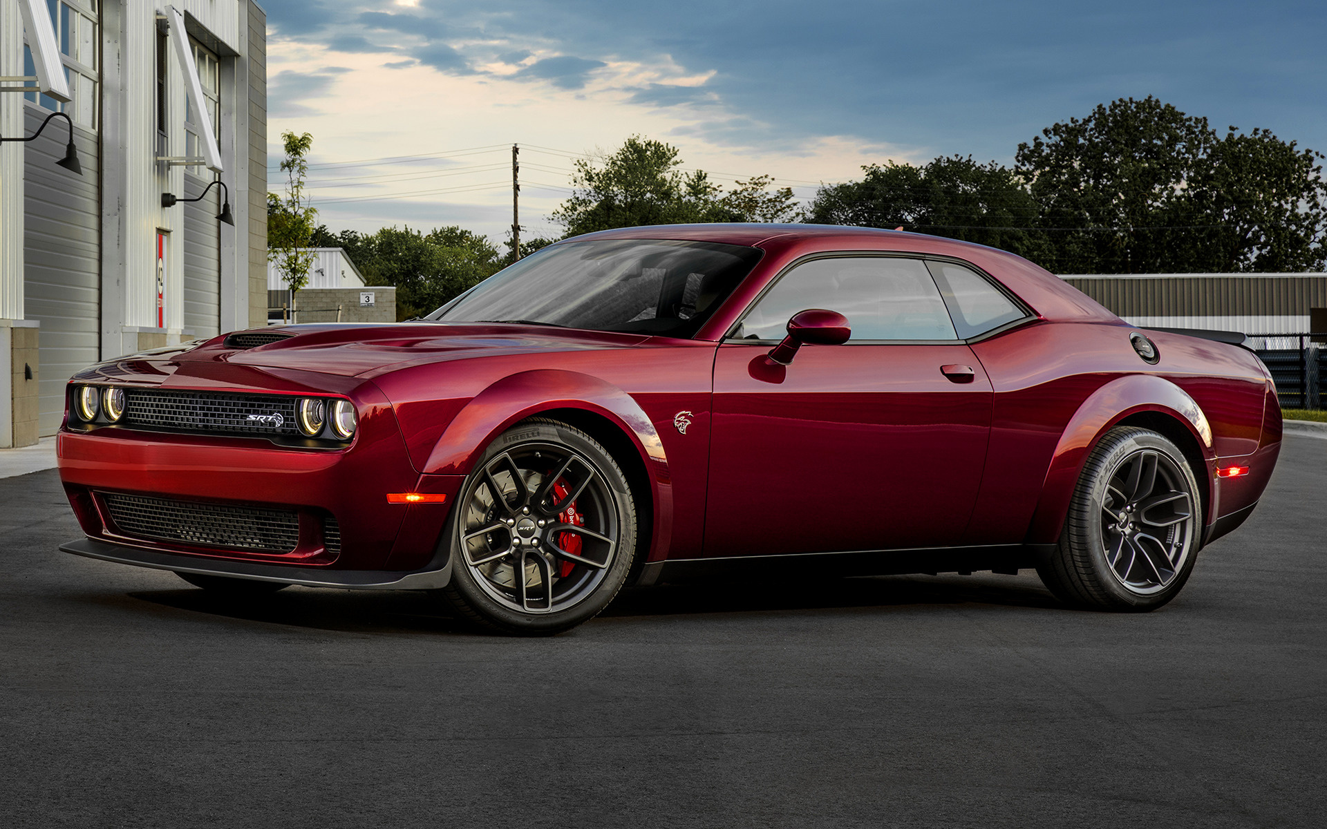 Dodge Challenger SRT Hellcat Widebody 2018 Wallpapers And HD