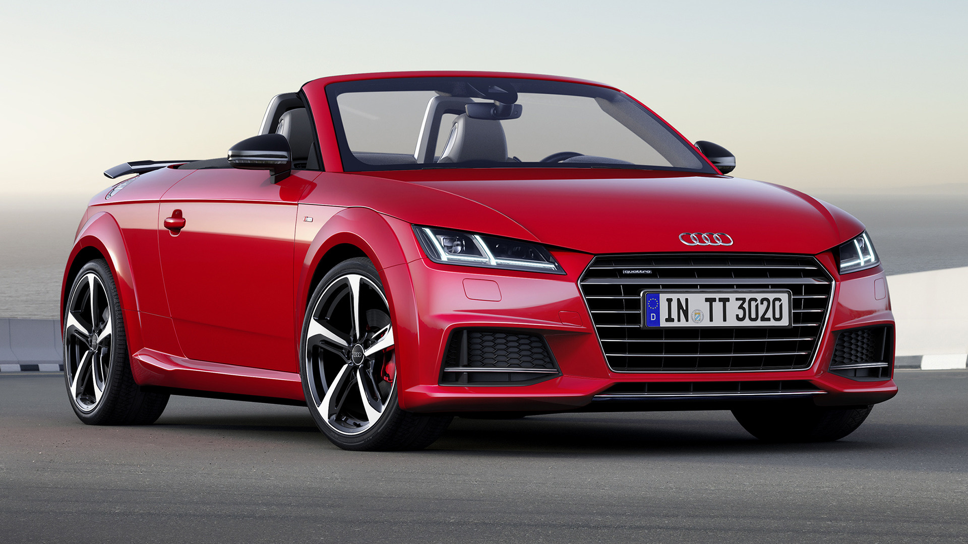 audi tt roadster s line competition 2016 wallpapers and hd images car pixel. Black Bedroom Furniture Sets. Home Design Ideas