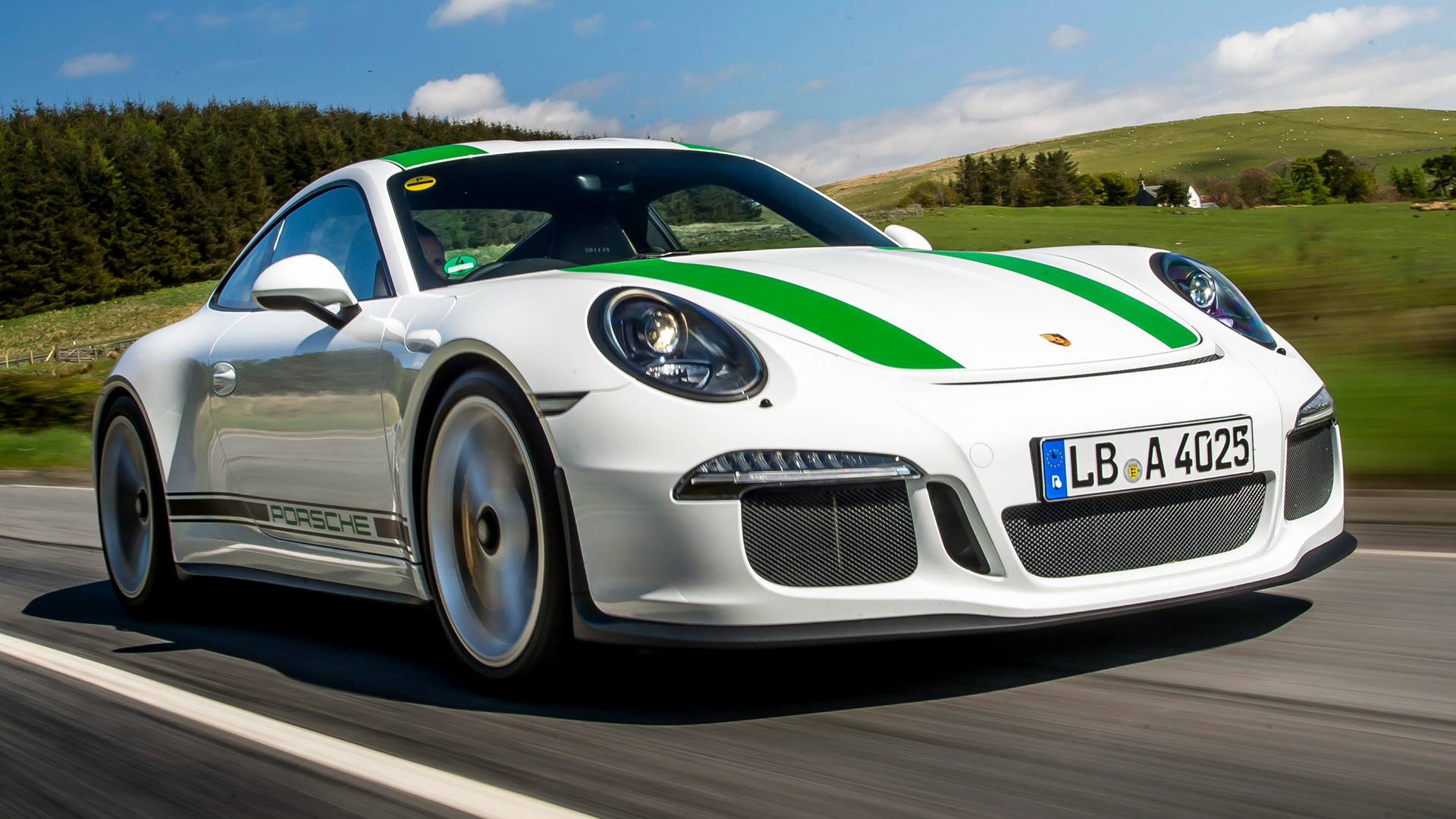 Porsche 911 R 2016 Uk Wallpapers And Hd Images Car Pixel