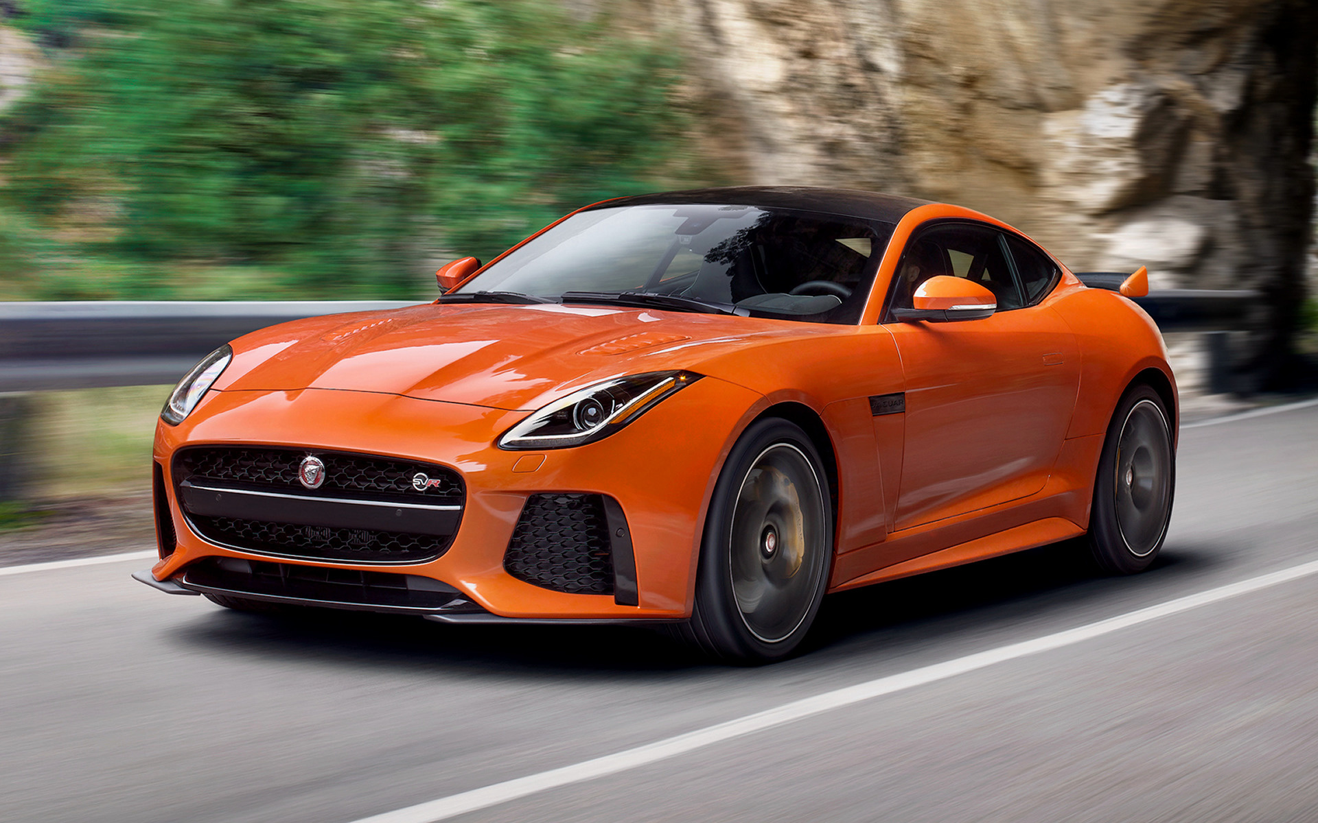 Jaguar F Type Coupe >> 2016 Jaguar F-Type SVR Coupe (US) - Wallpapers and HD ...