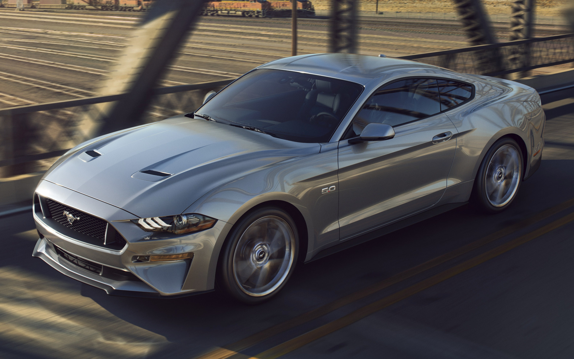 2018 Ford Mustang GT. Desktop wallpapers ...