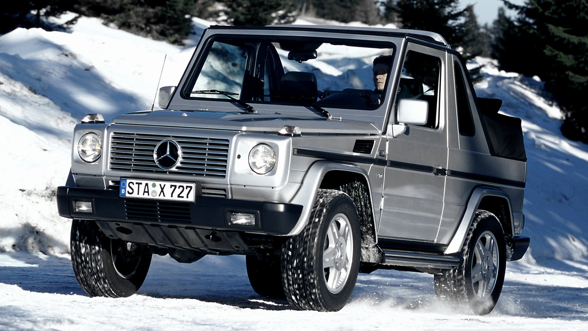 Mercedes benz g class cabriolet 1994 wallpapers and hd for Mercedes benz g class cabriolet