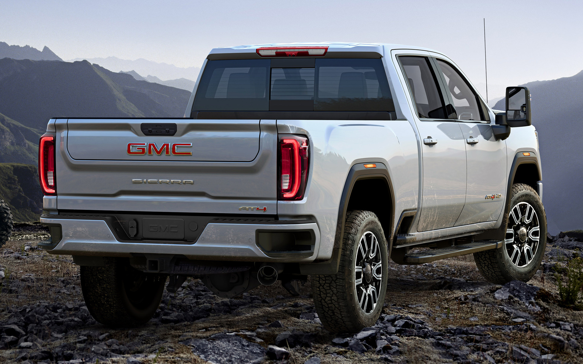 GMC Sierra 2500 HD AT4 Crew Cab (2020) Wallpapers and HD ...
