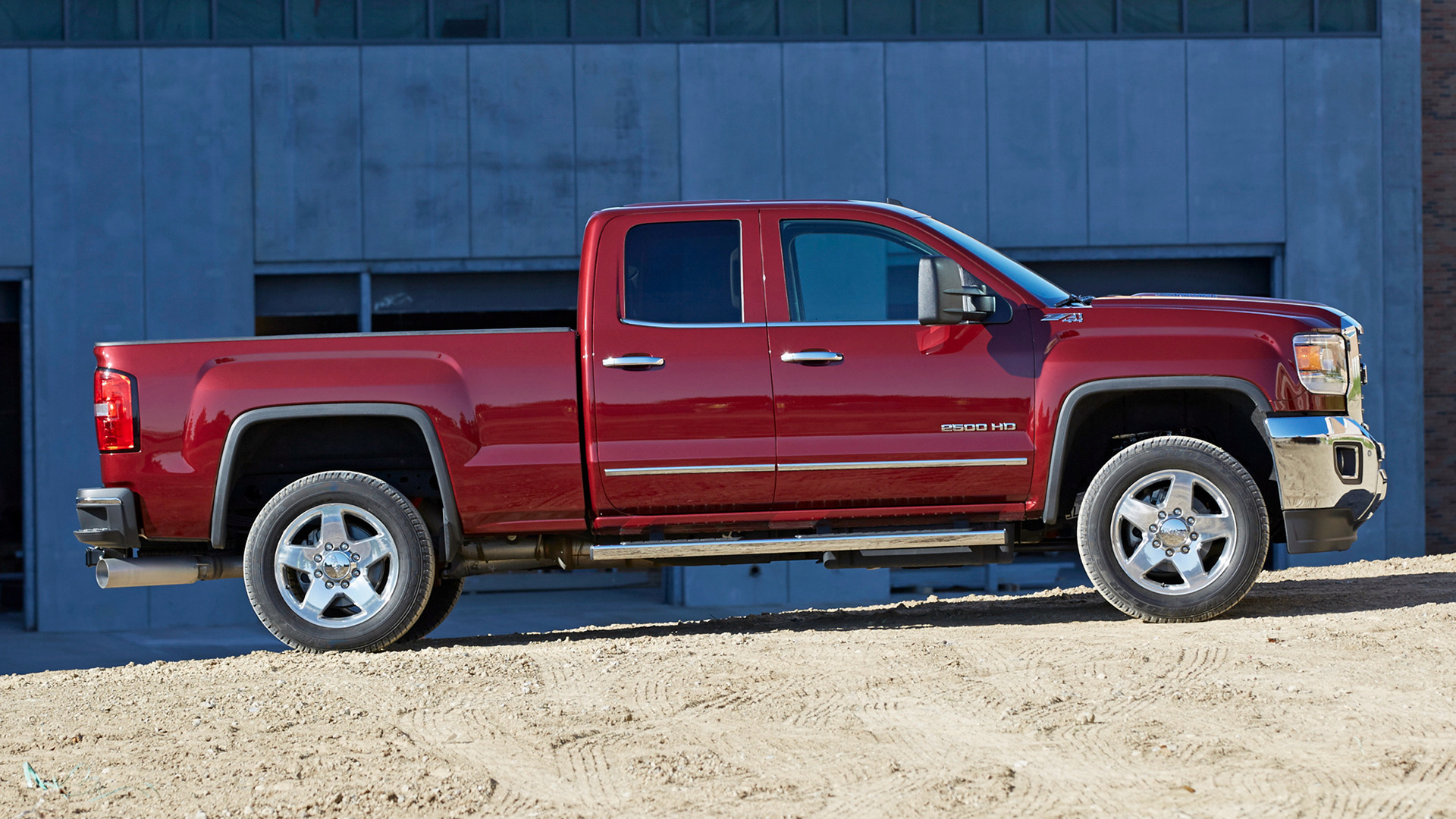2015 Ram 2500 >> 2015 GMC Sierra 2500 HD SLT Double Cab - Wallpapers and HD Images | Car Pixel