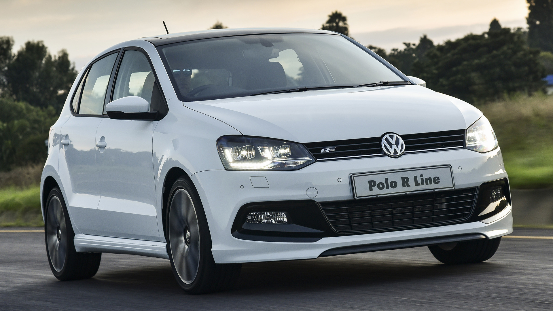 volkswagen polo r line 5 door 2017 za wallpapers and hd images car pixel. Black Bedroom Furniture Sets. Home Design Ideas
