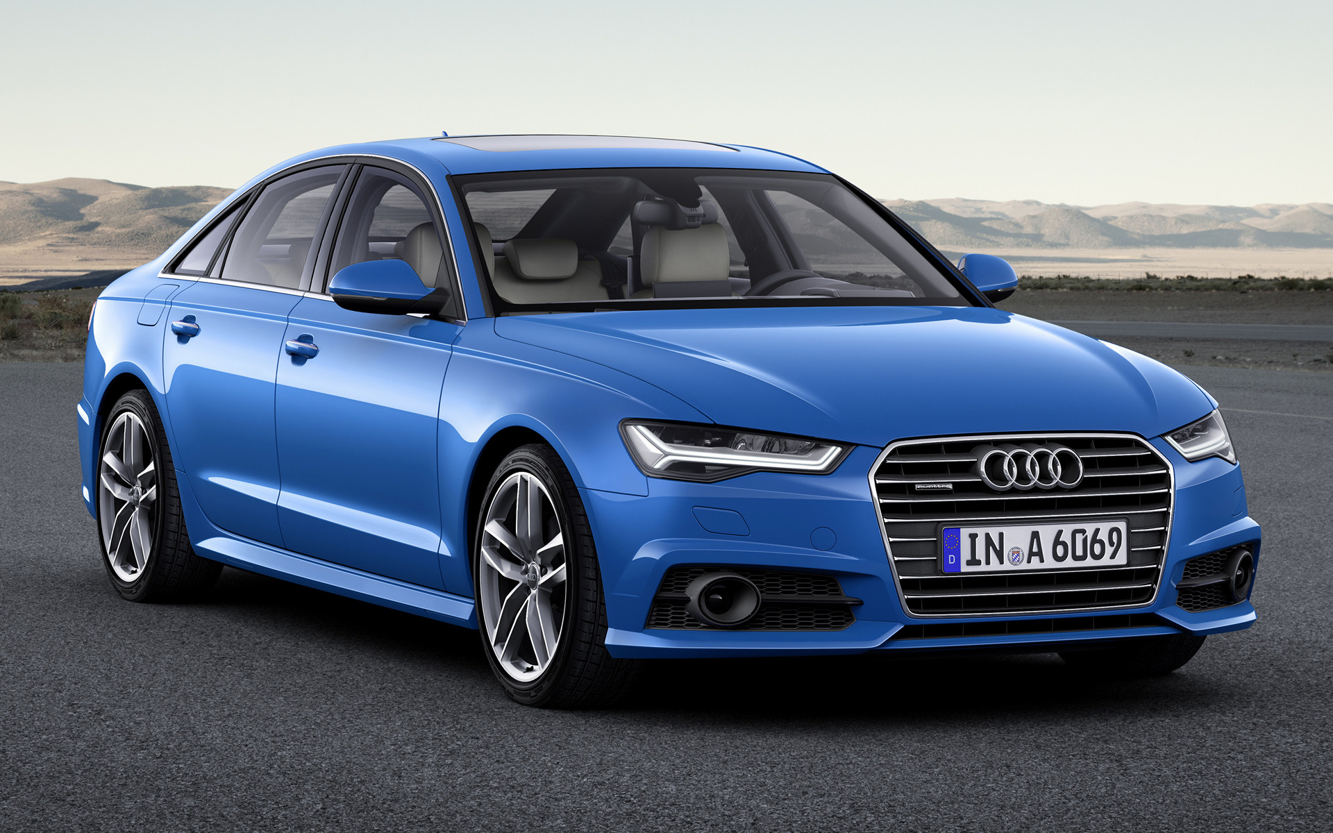 audi a6 sedan 2016 wallpapers and hd images car pixel. Black Bedroom Furniture Sets. Home Design Ideas