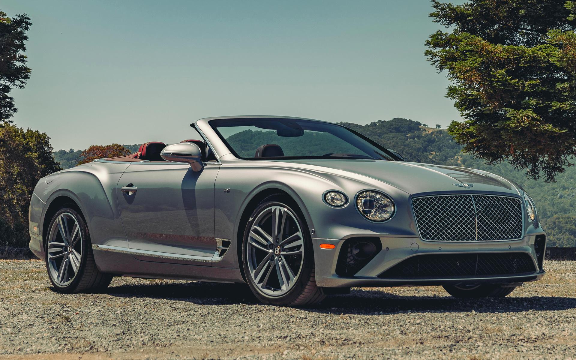 2020 Bentley Continental Gt V8 Convertible Us Papeis De Parede E Imagens De Fundo Em Hd Car Pixel
