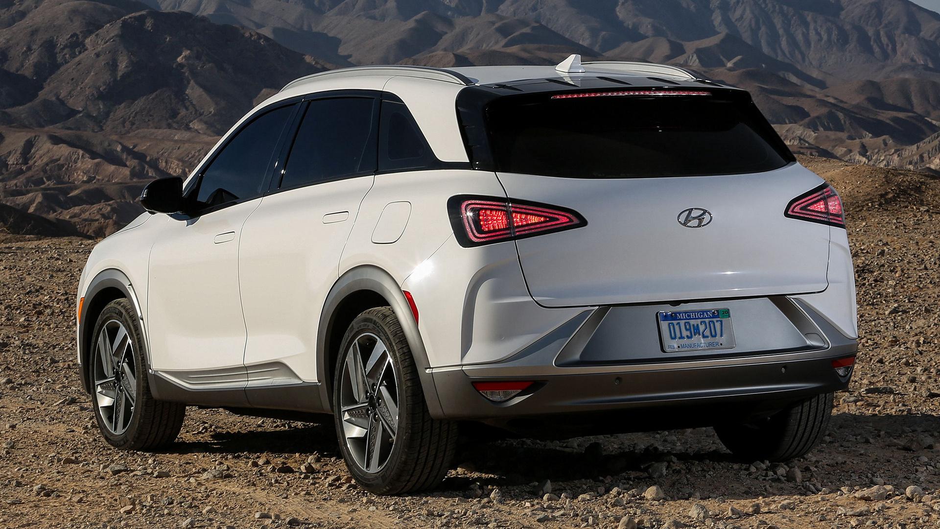 Honda Santa Fe >> 2019 Hyundai Nexo (US) - Wallpapers and HD Images   Car Pixel