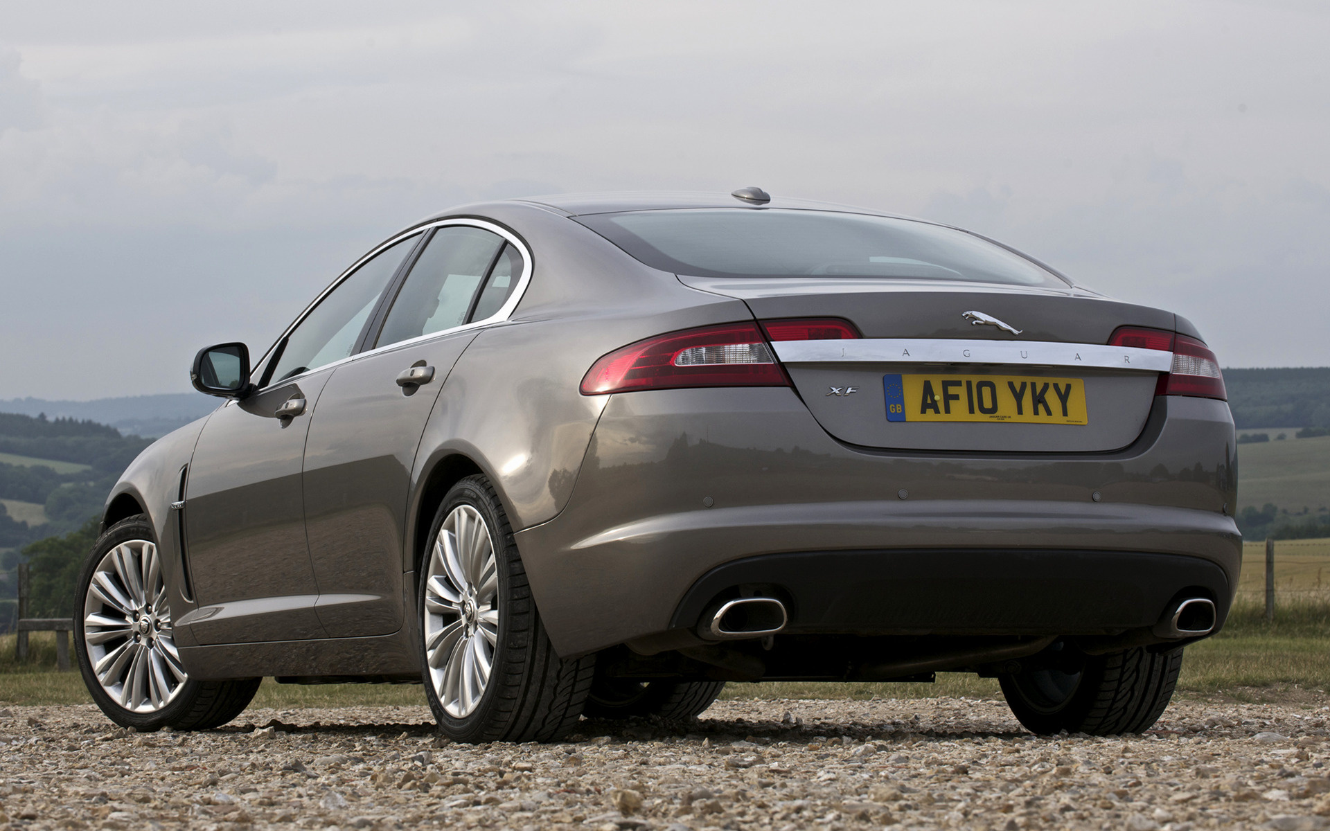 Jaguar XF (2008) UK Wallpapers And HD Images