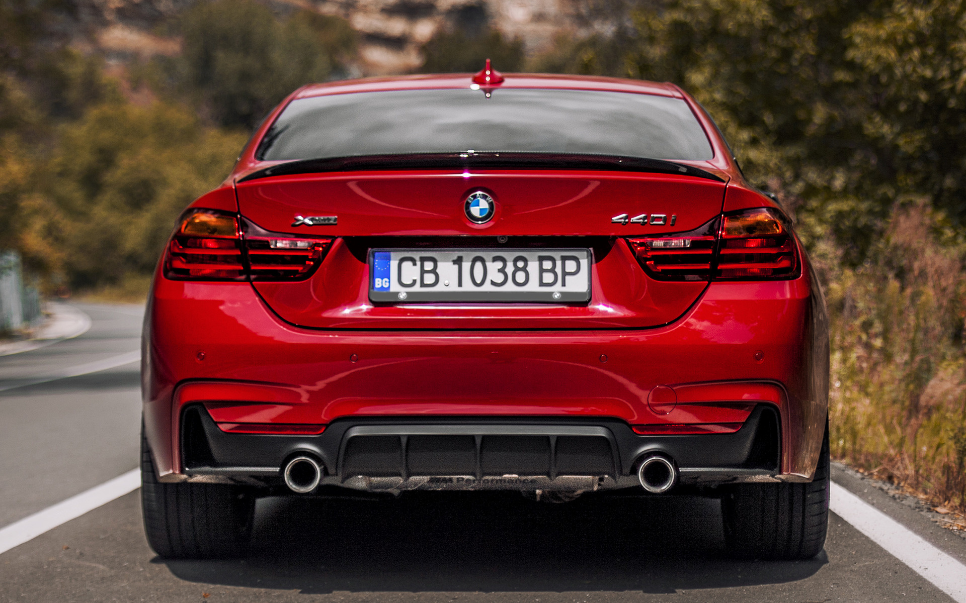2016 BMW 4 Series Coupe M Performance Red Edition ...