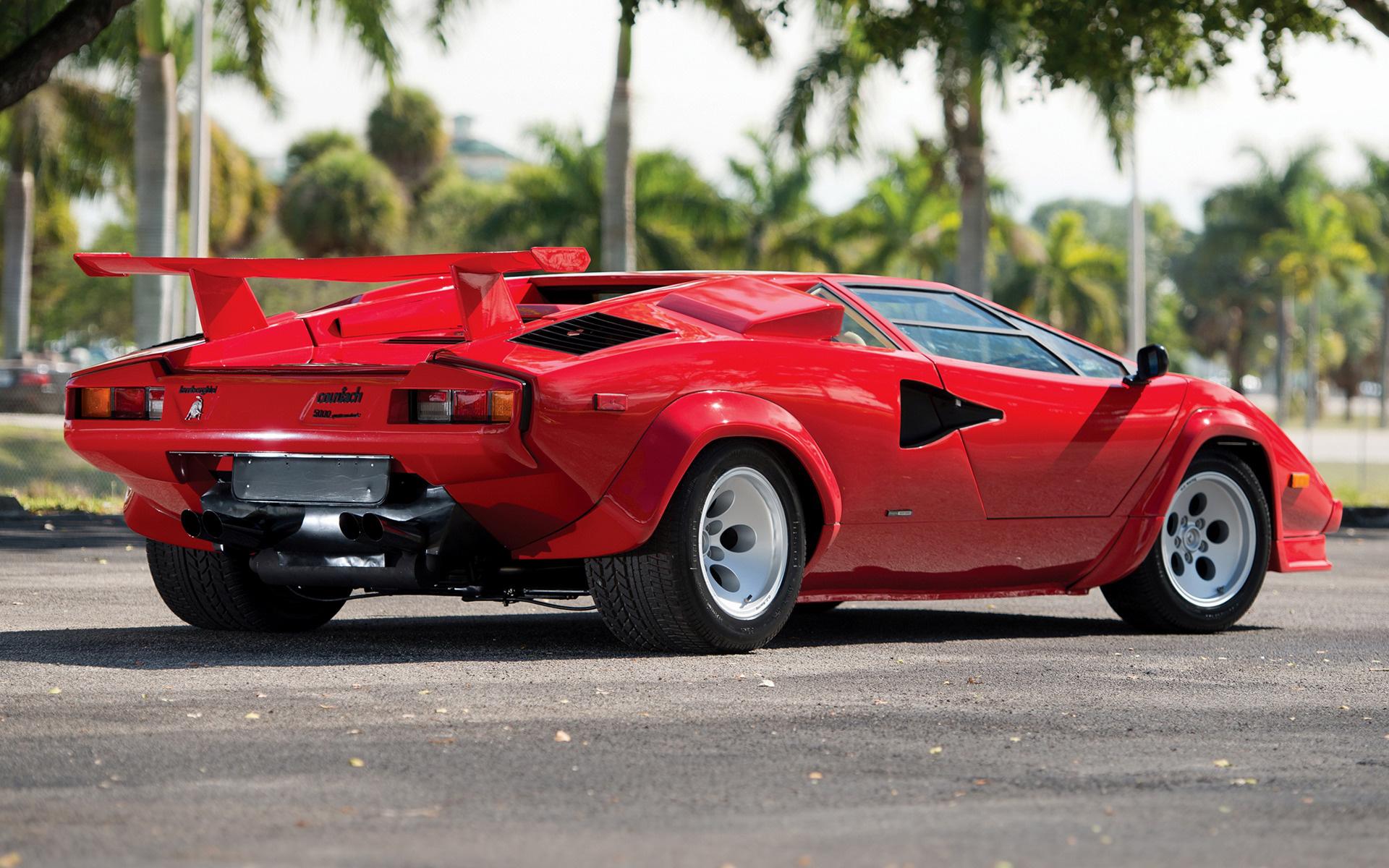 1985 Lamborghini Countach 5000 Quattrovalvole Us