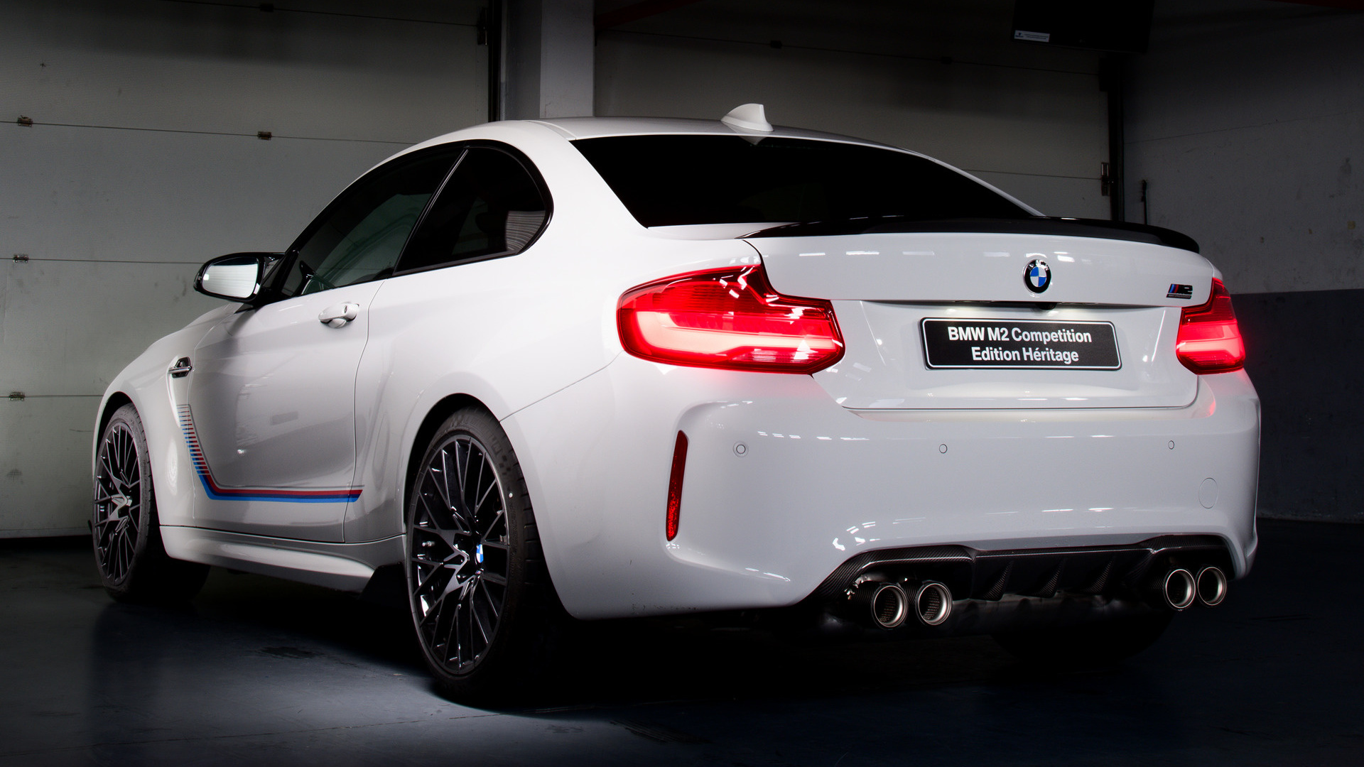 Heritage Volkswagen Subaru >> 2019 BMW M2 Coupe Competition Heritage Edition - Wallpapers and HD Images | Car Pixel