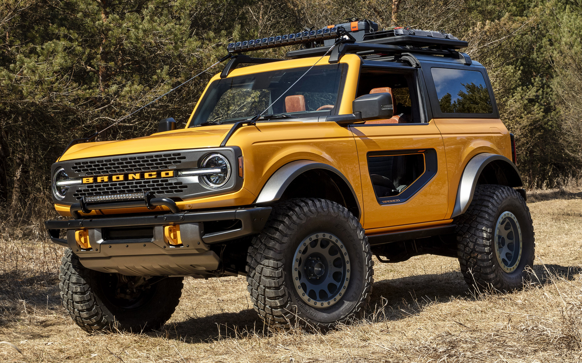 2021 Ford Bronco 2-door - Wallpapers and HD Images | Car ...