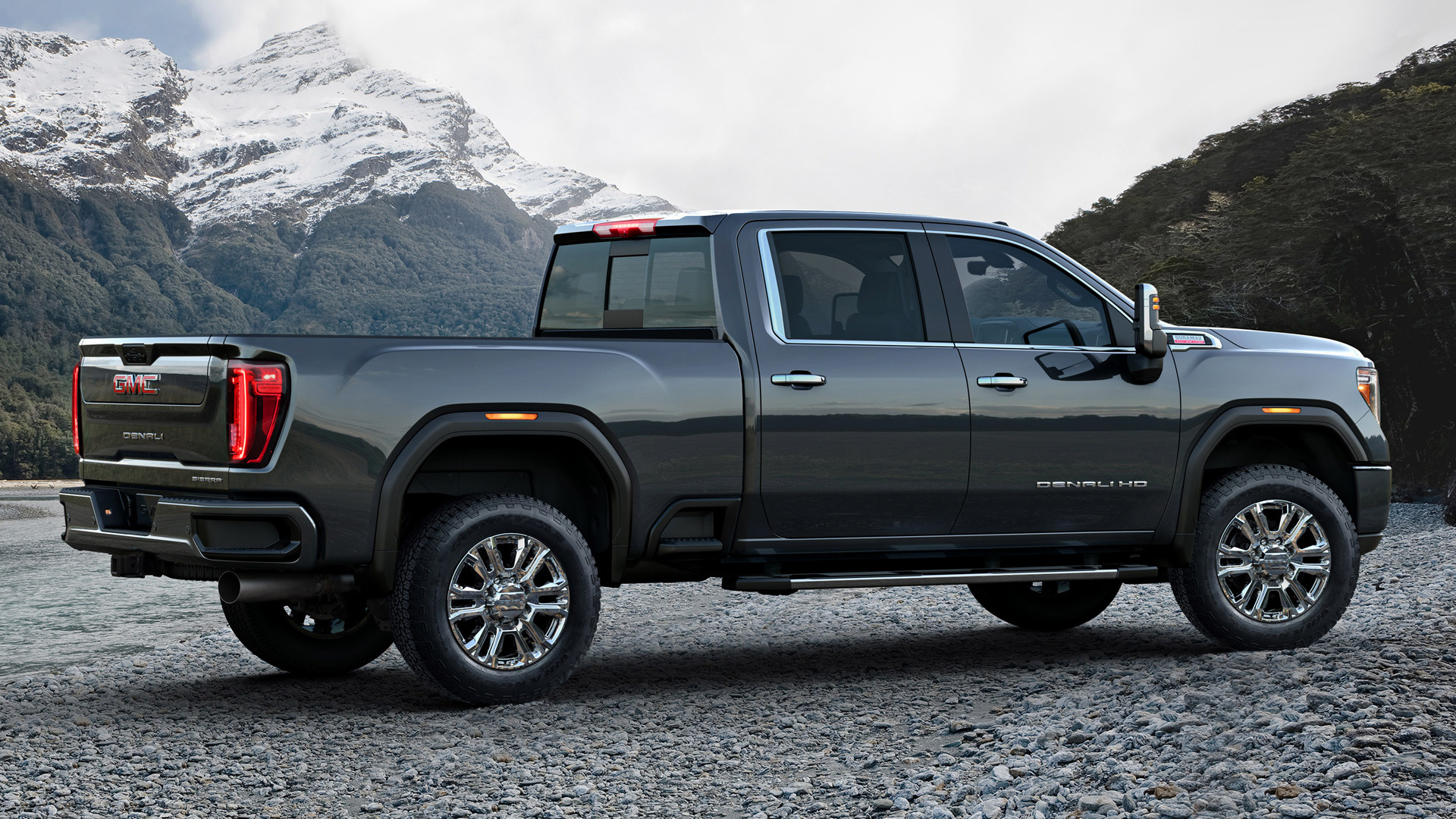 2020 GMC Sierra 2500 HD Denali Crew Cab - Wallpapers and HD Images | Car Pixel
