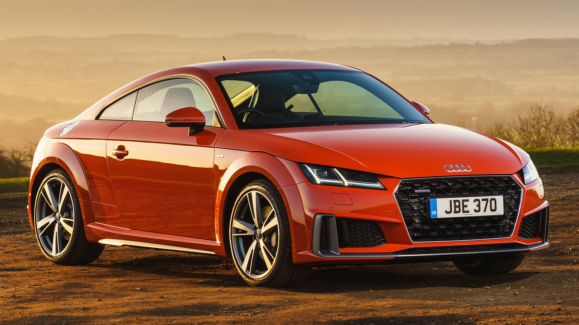 2019 audi tt coupe s line uk wallpapers and hd images. Black Bedroom Furniture Sets. Home Design Ideas