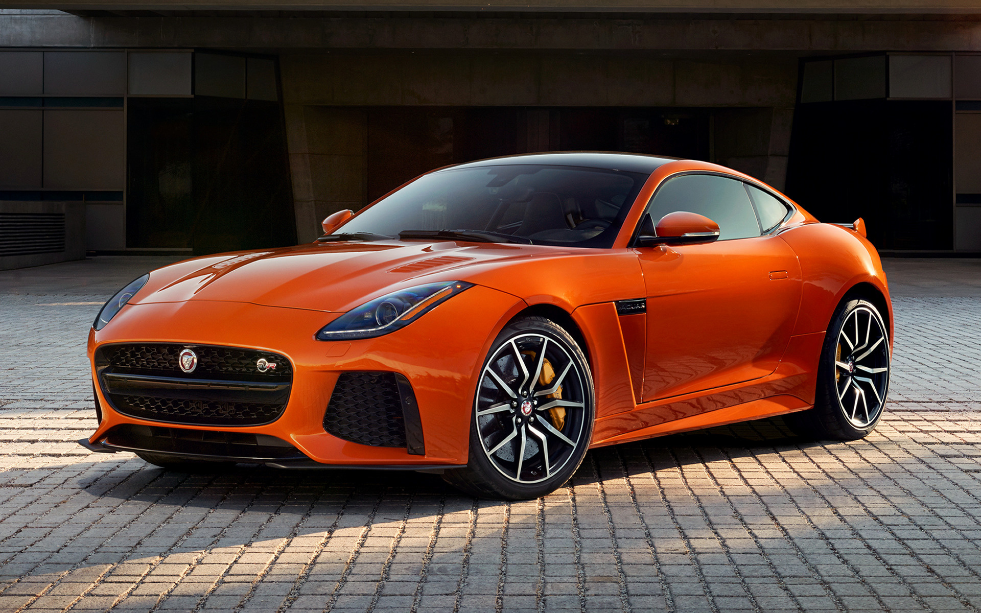 Jaguar F Type Svr Coupe 2016 Us Wallpapers And Hd Images