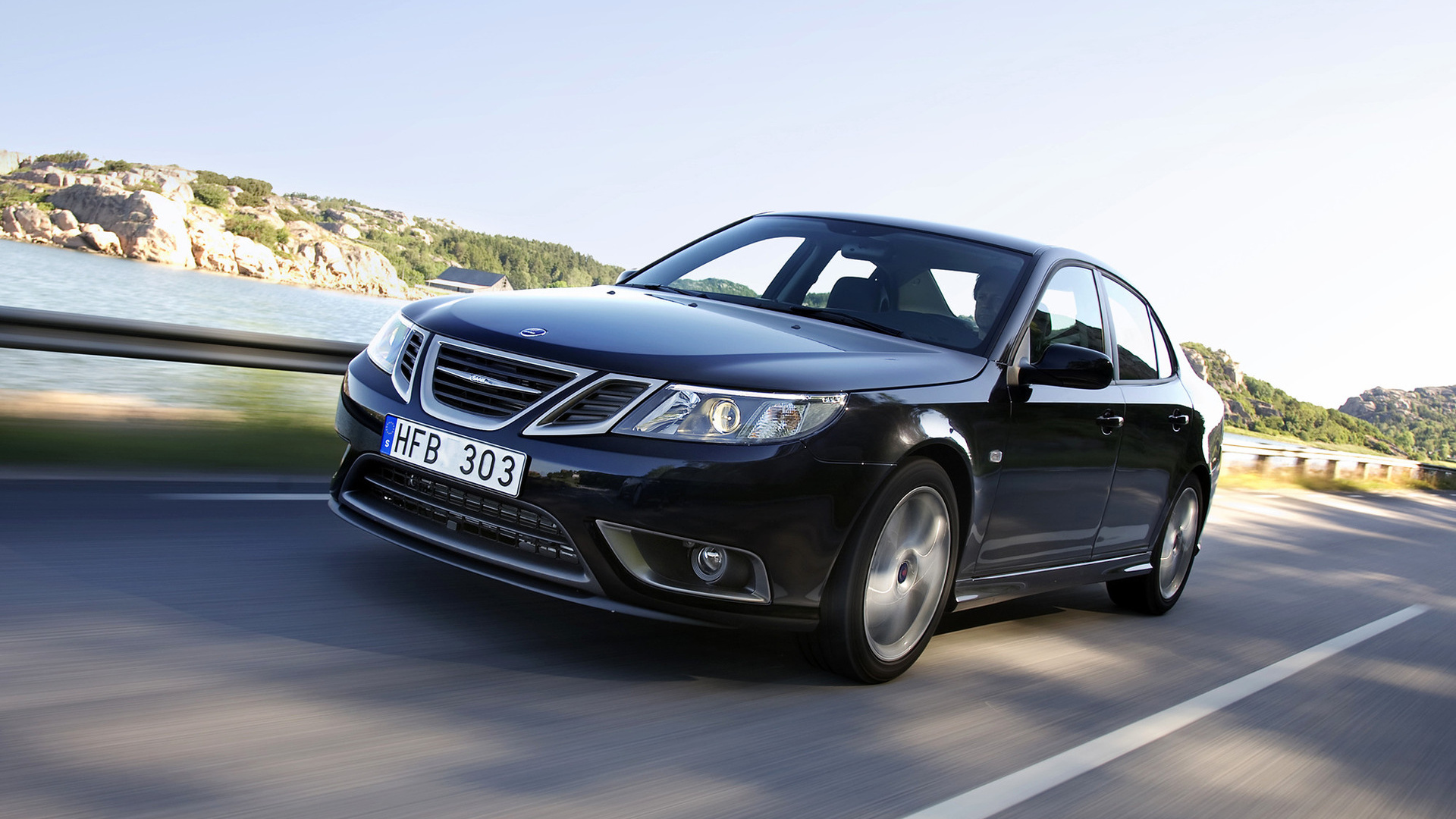 Saab 9 3 Turbo X Sport Sedan 2008 Wallpapers And Hd