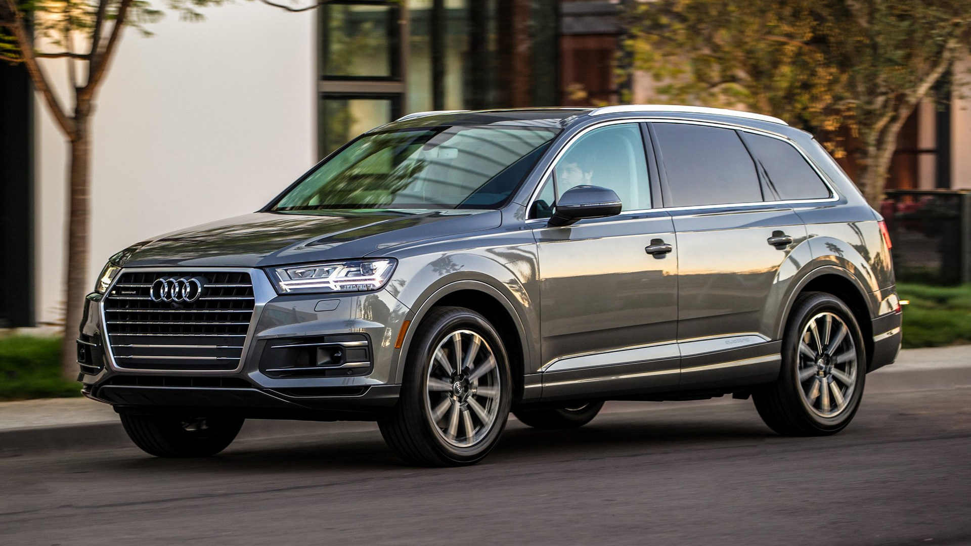 2017 Audi Q7 (US) - Wallpapers and HD Images | Car Pixel