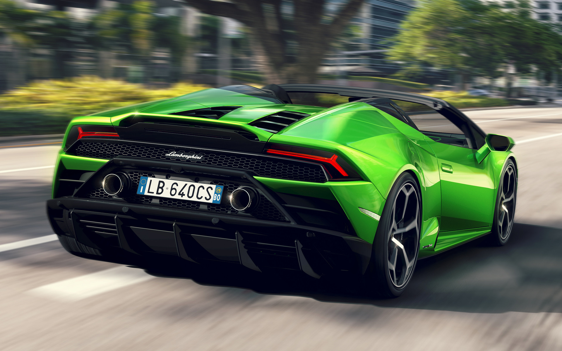 2019 Lamborghini Huracan Evo Spyder Wallpapers And Hd Images Car