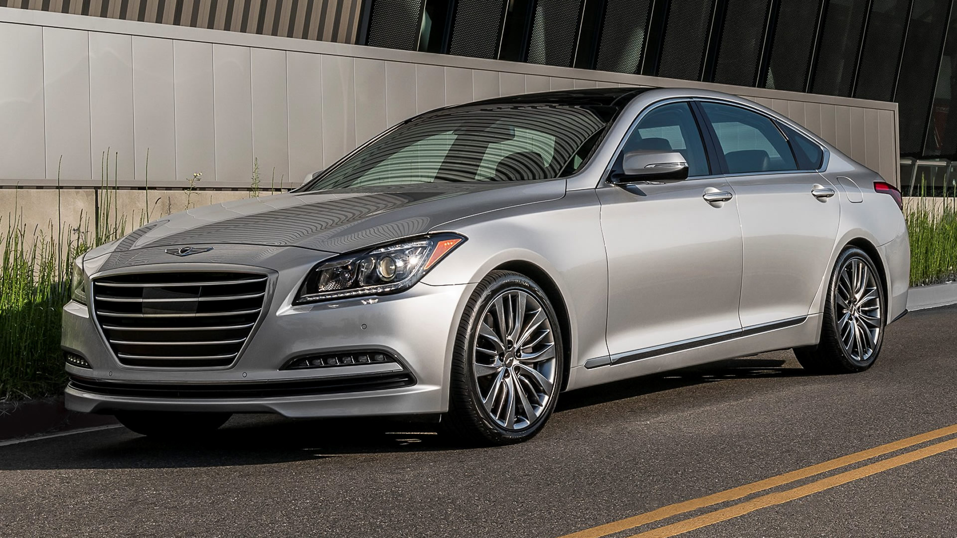 Genesis G80 (2017) Wallpapers and HD Images - Car Pixel