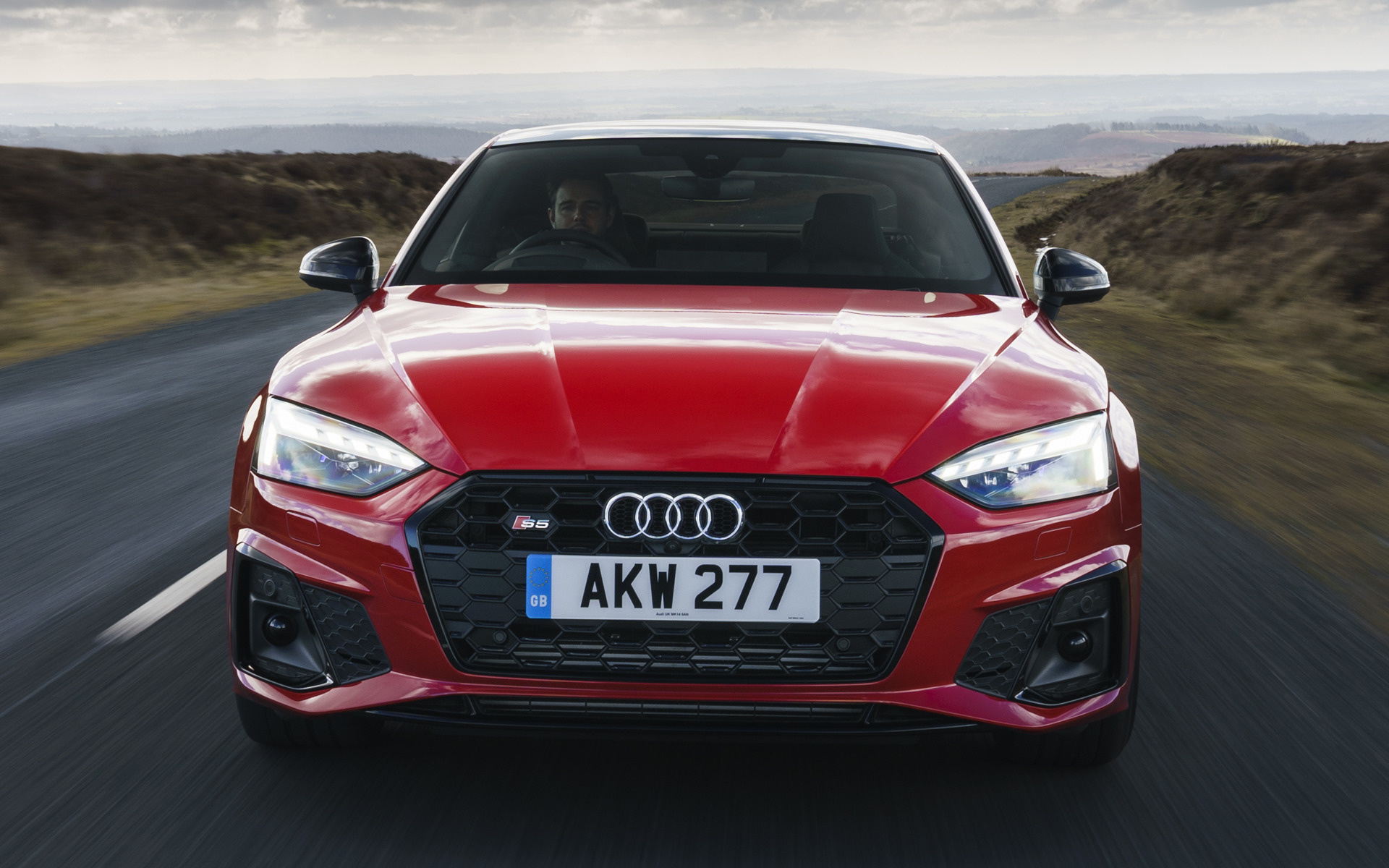 2020 Audi S5 Coupe (UK) - Wallpapers and HD Images | Car Pixel