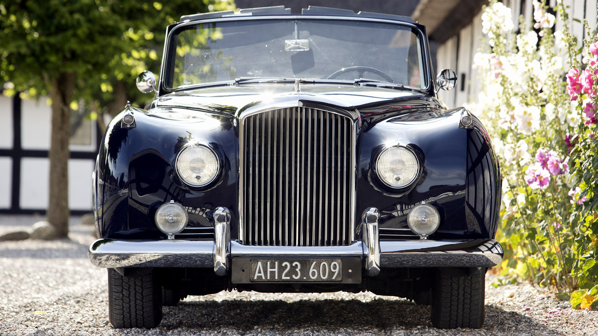 1956 bentley s1 drophead coupe by mulliner wallpapers. Black Bedroom Furniture Sets. Home Design Ideas
