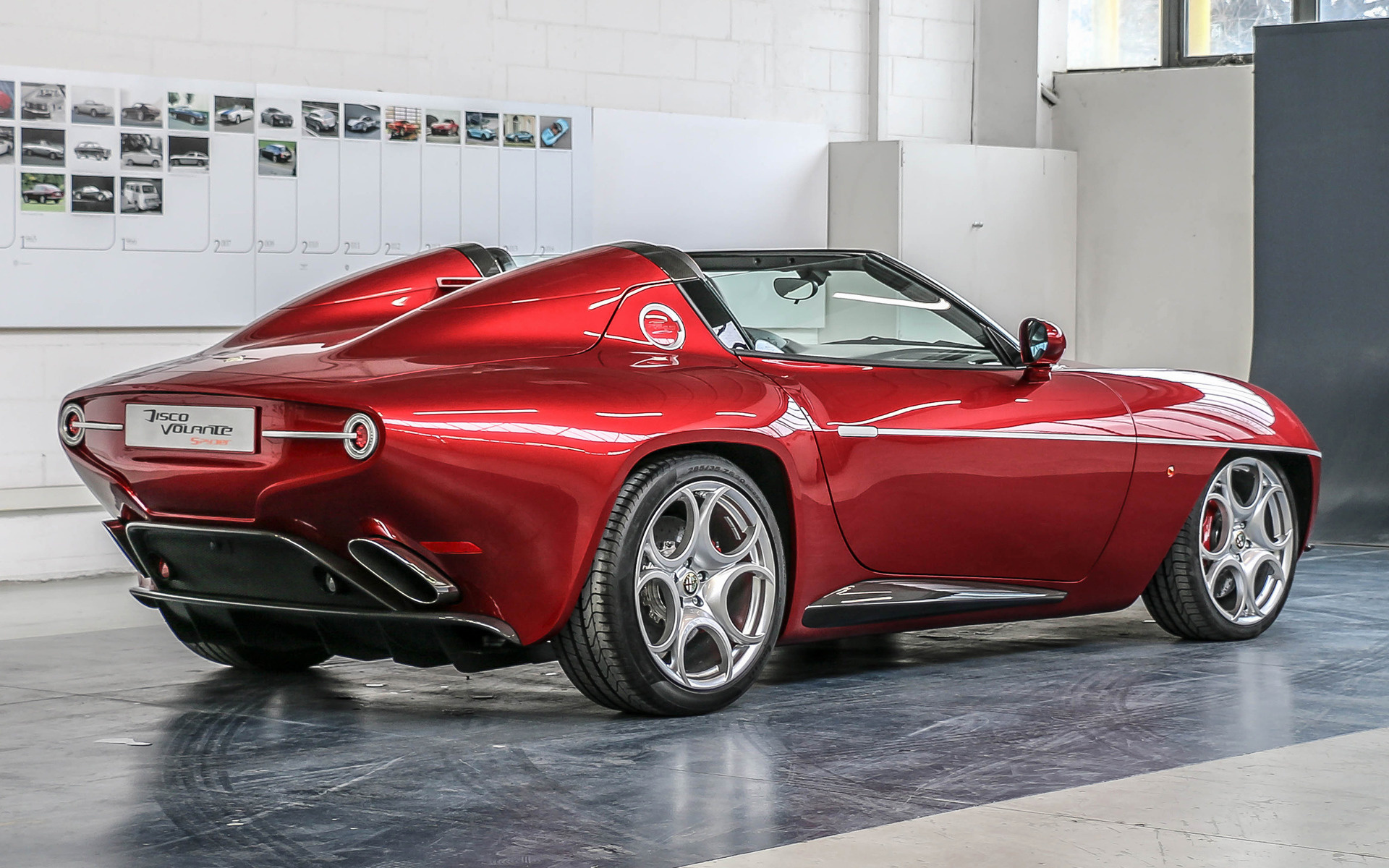 Alfa Romeo Disco Volante >> 2018 Alfa Romeo Disco Volante Spyder 3 Wallpapers And Hd Images