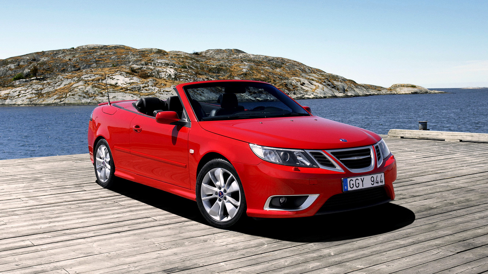 saab 9 3 aero convertible 2008 wallpapers and hd images car pixel. Black Bedroom Furniture Sets. Home Design Ideas