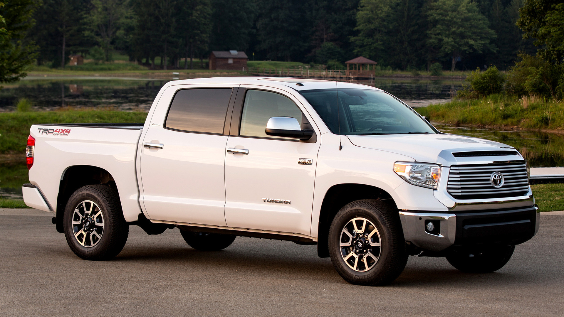 2013 TRD Toyota Tundra CrewMax Limited - Wallpapers and HD Images | Car Pixel