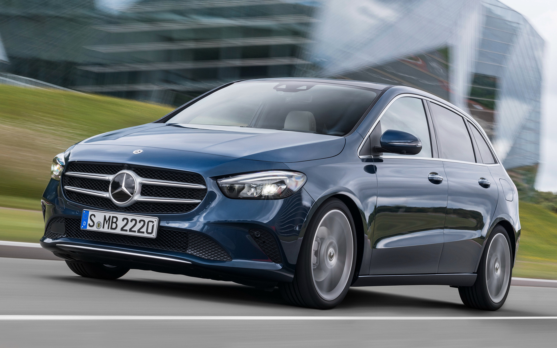 Mercedes-Benz B-Class (2019) Wallpapers and HD Images - Car Pixel