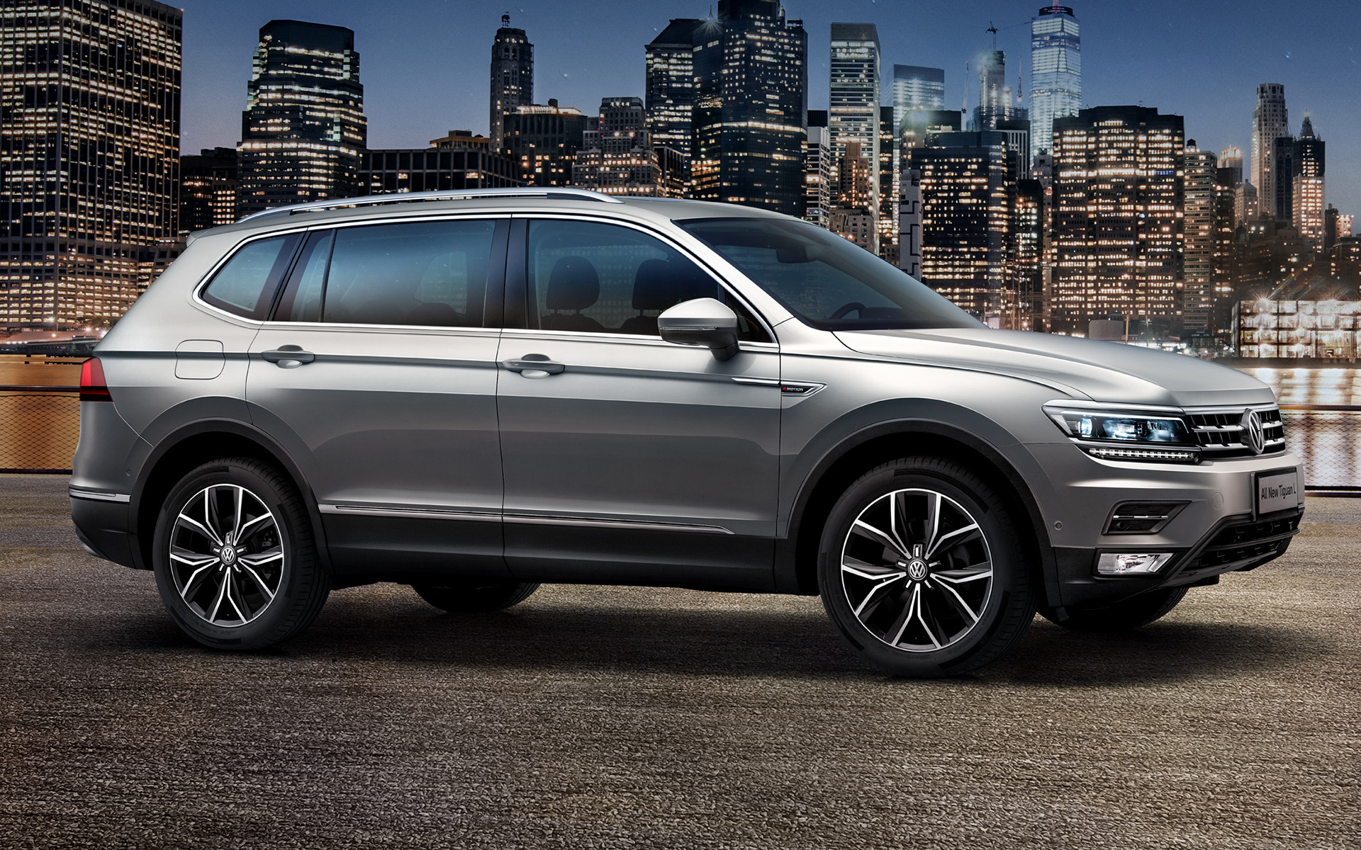 Volkswagen Tiguan L (2017) CN Wallpapers and HD Images ...