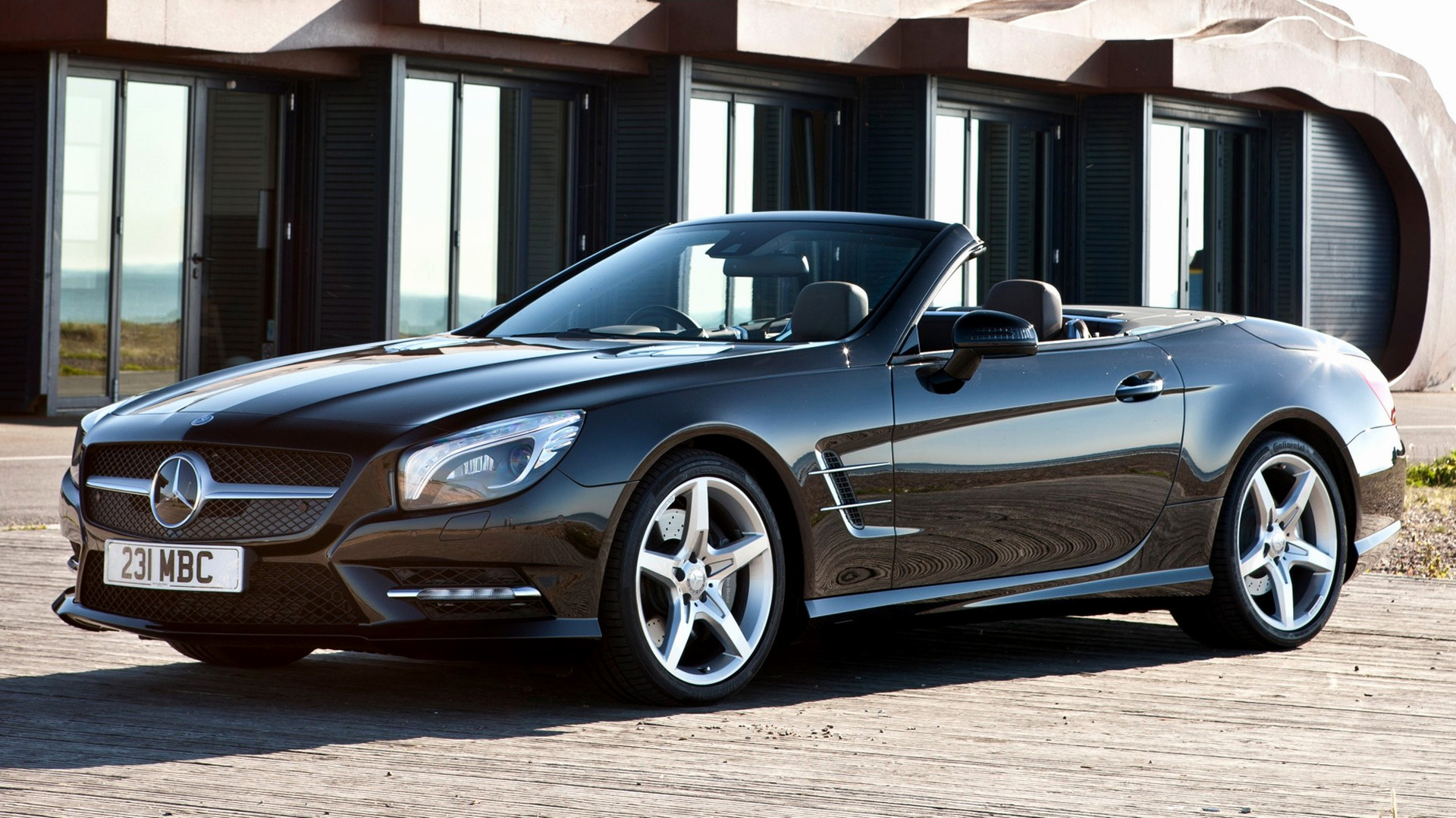Mercedes benz sl class amg styling 2012 uk wallpapers for Mercedes benz sl class