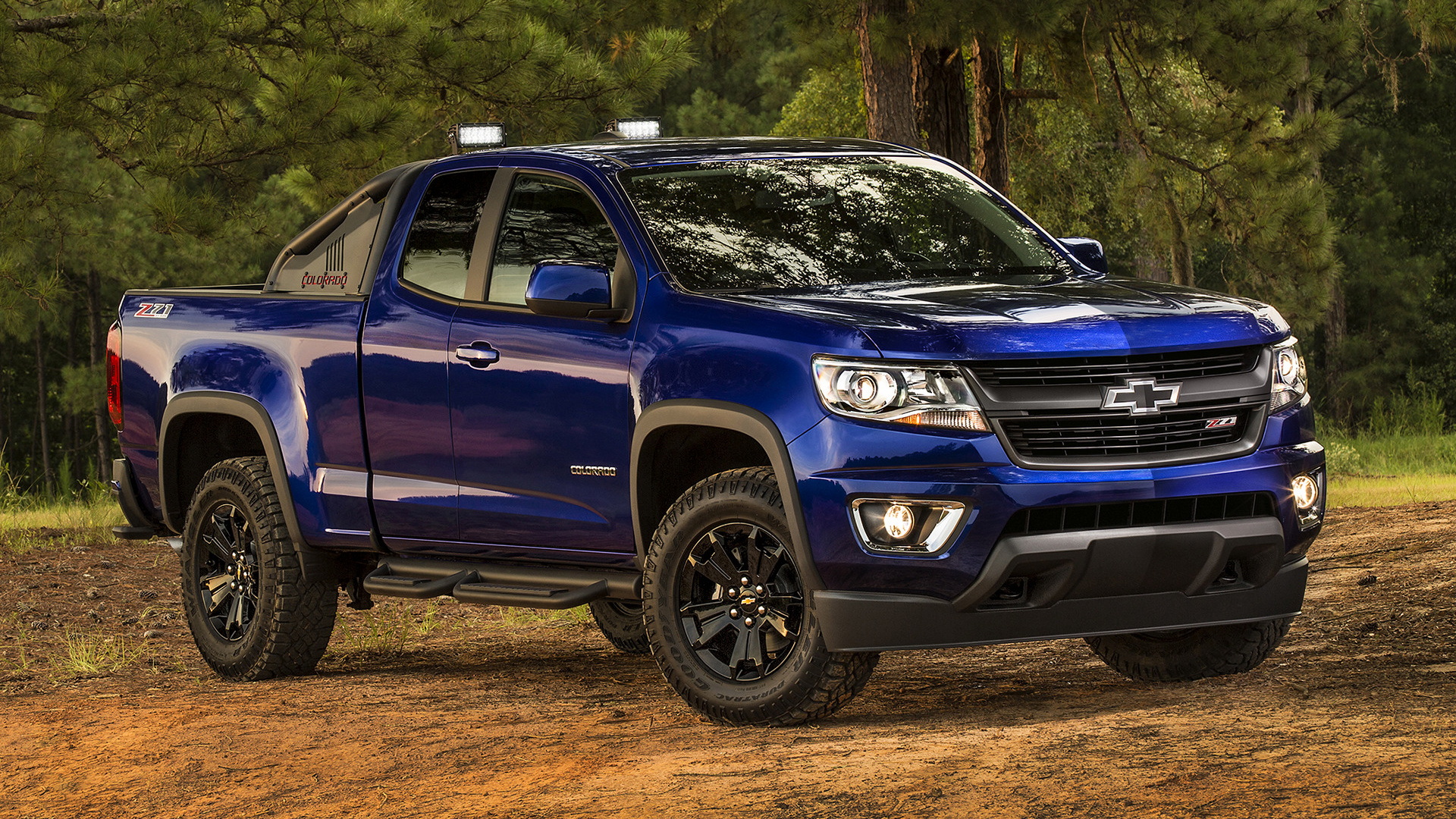 2016 Chevrolet Colorado Z71 Trail Boss Extended Cab ...